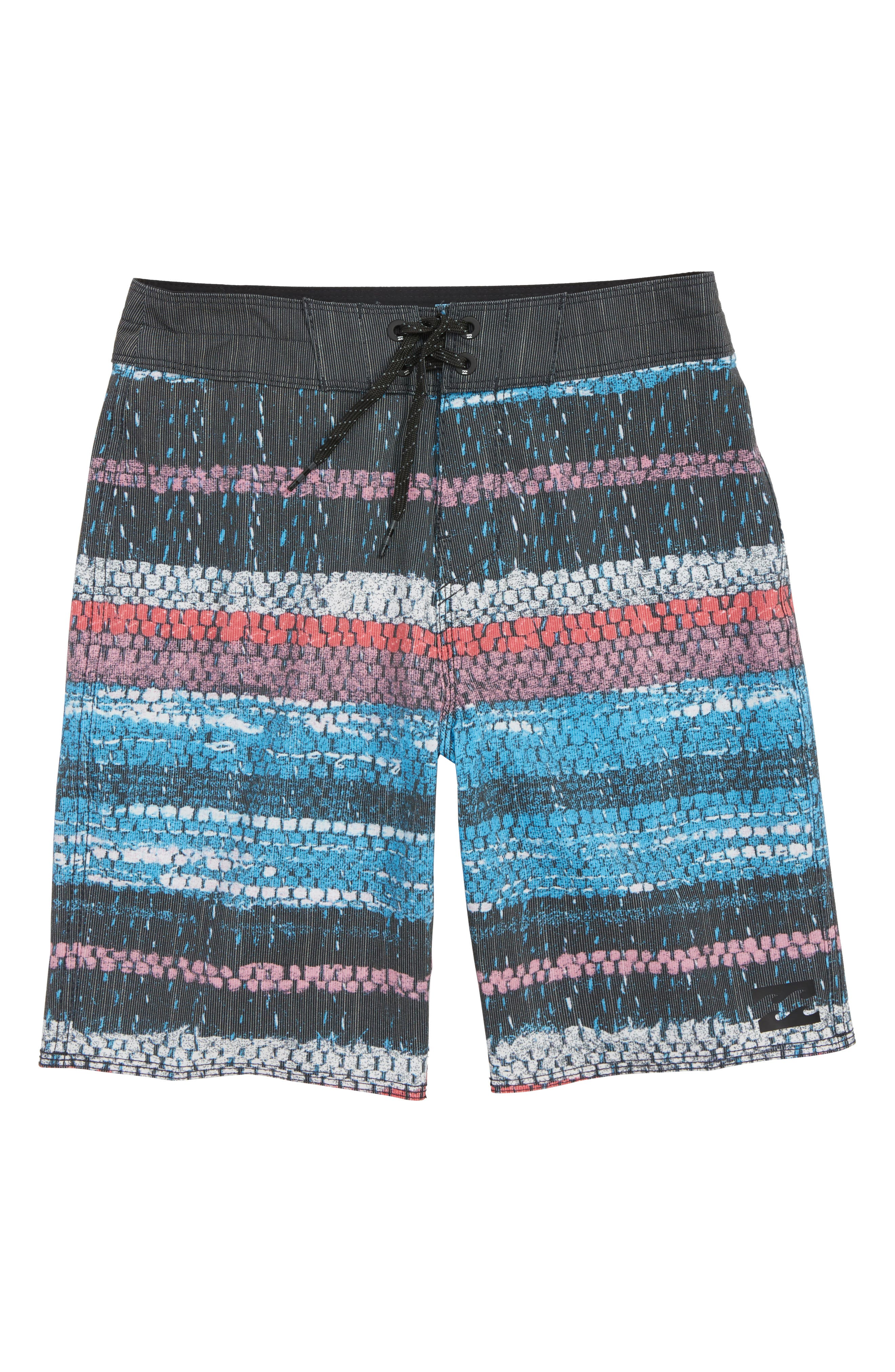 Sundays X Board Shorts,                         Main,                         color, BLUE STRIPE