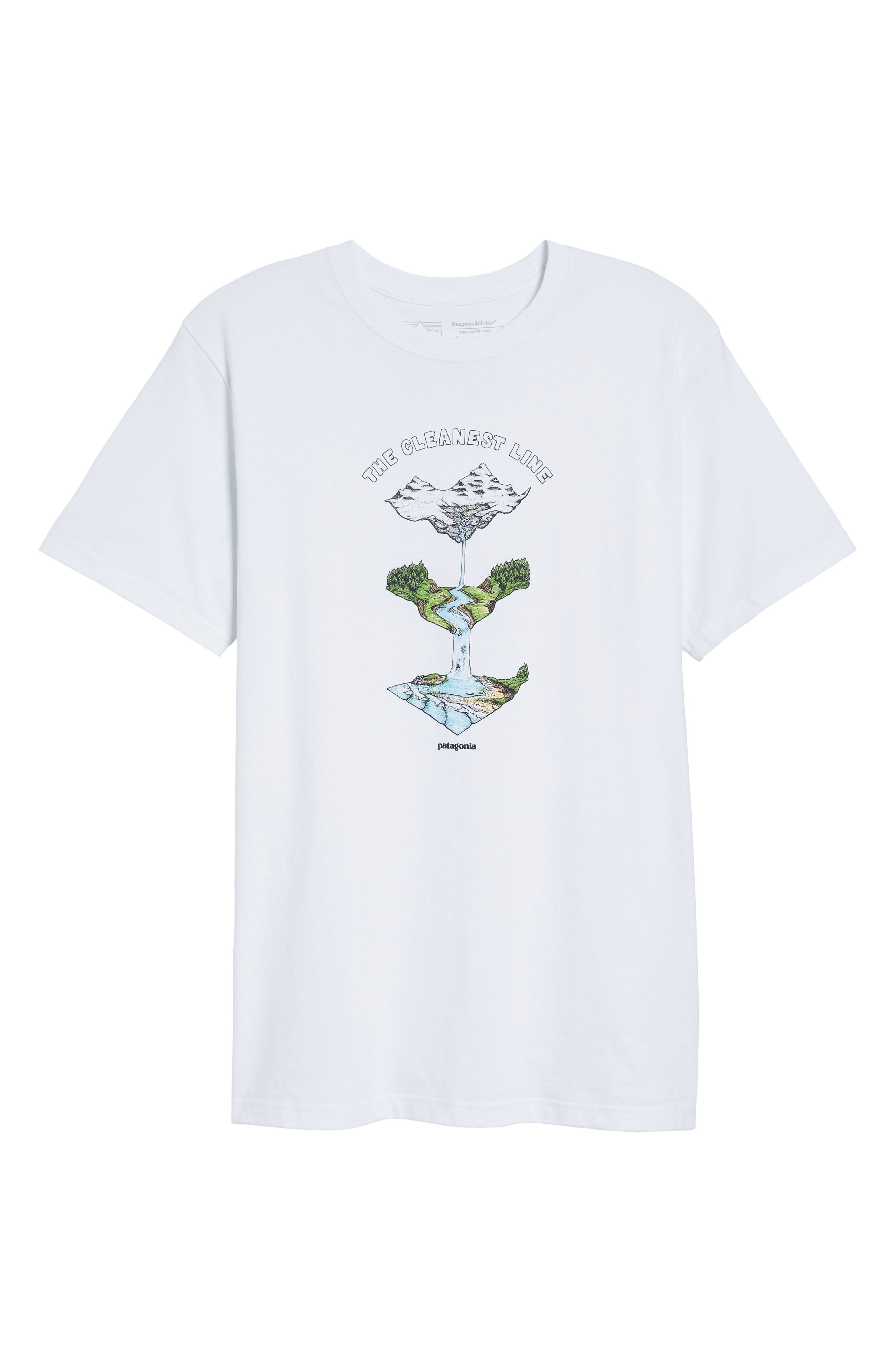 Glacier Born Responsibili-Tee T-Shirt,                             Alternate thumbnail 6, color,                             100