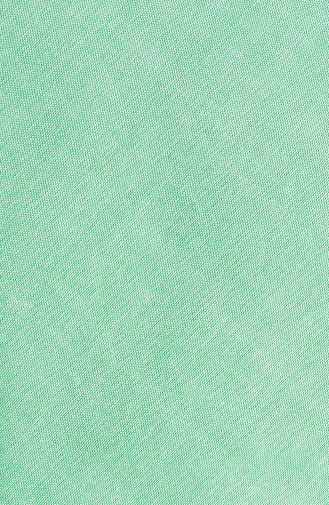 Desmond Solid Cotton Skinny Tie,                             Alternate thumbnail 2, color,                             334