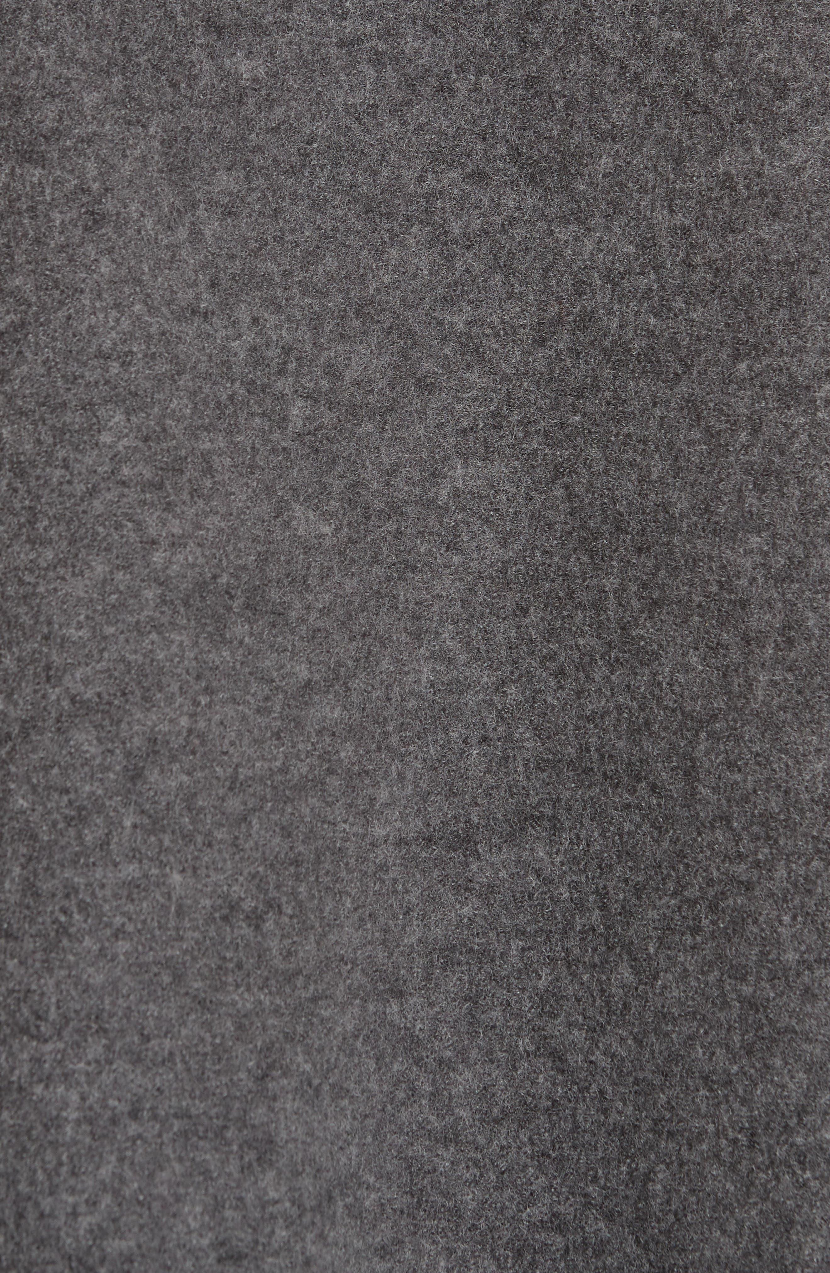 Long Merino Wool Vest,                             Alternate thumbnail 6, color,                             030