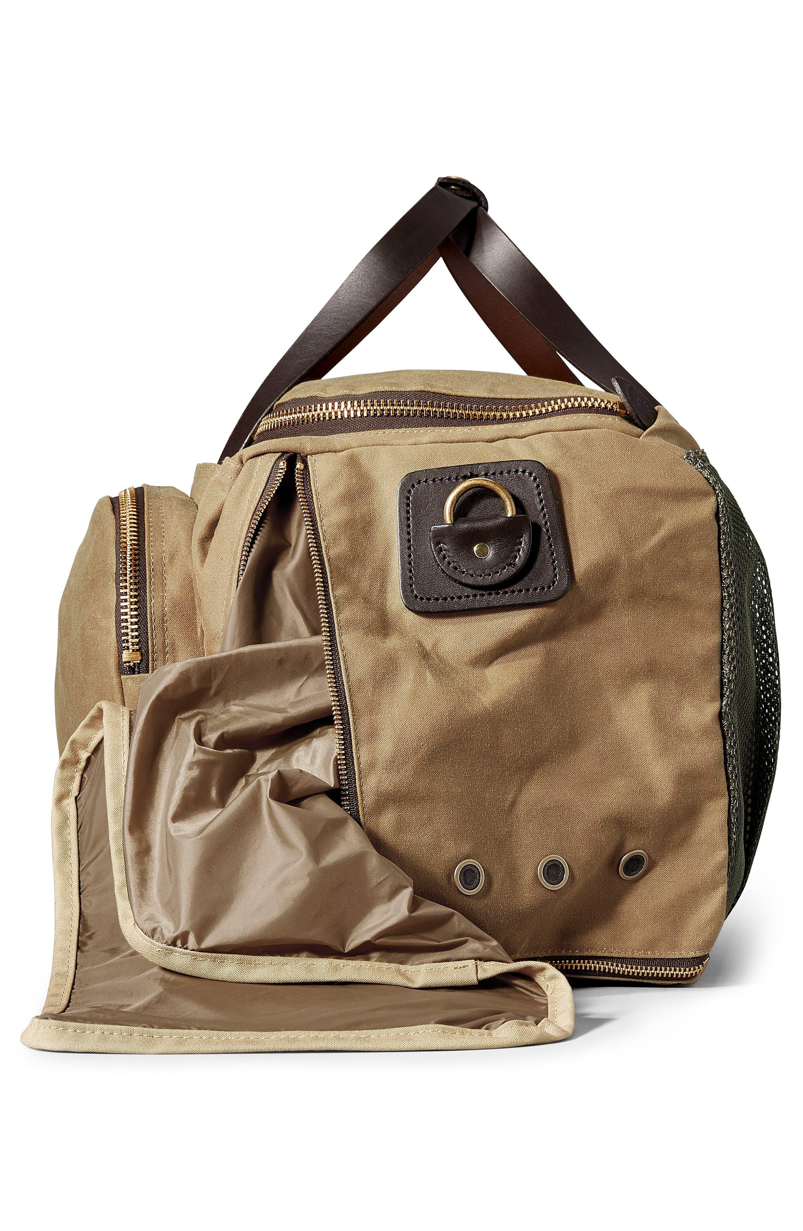Excursion Duffel Bag,                             Alternate thumbnail 4, color,                             TAN