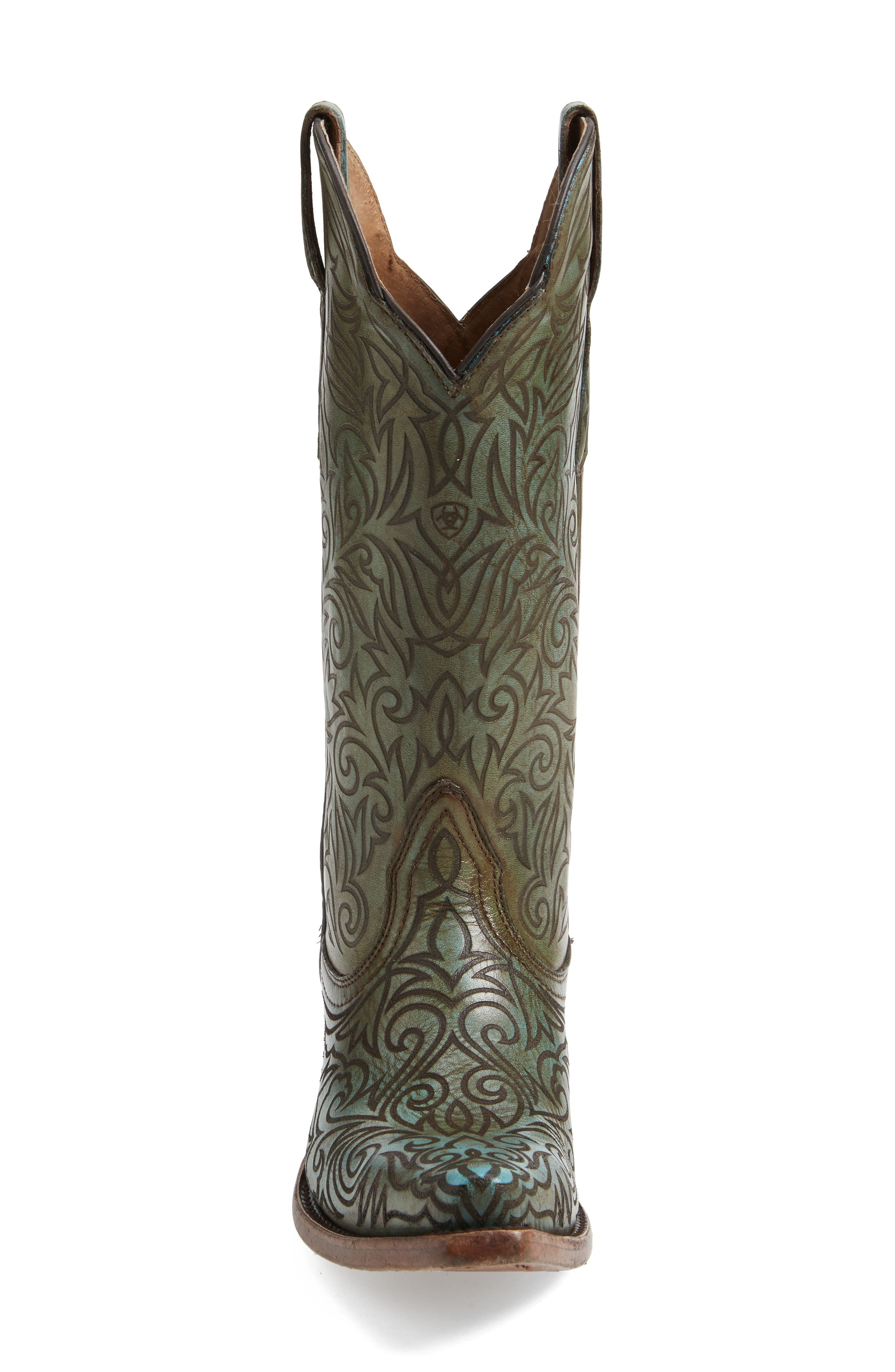 Sterling Western Boot,                             Alternate thumbnail 3, color,                             400