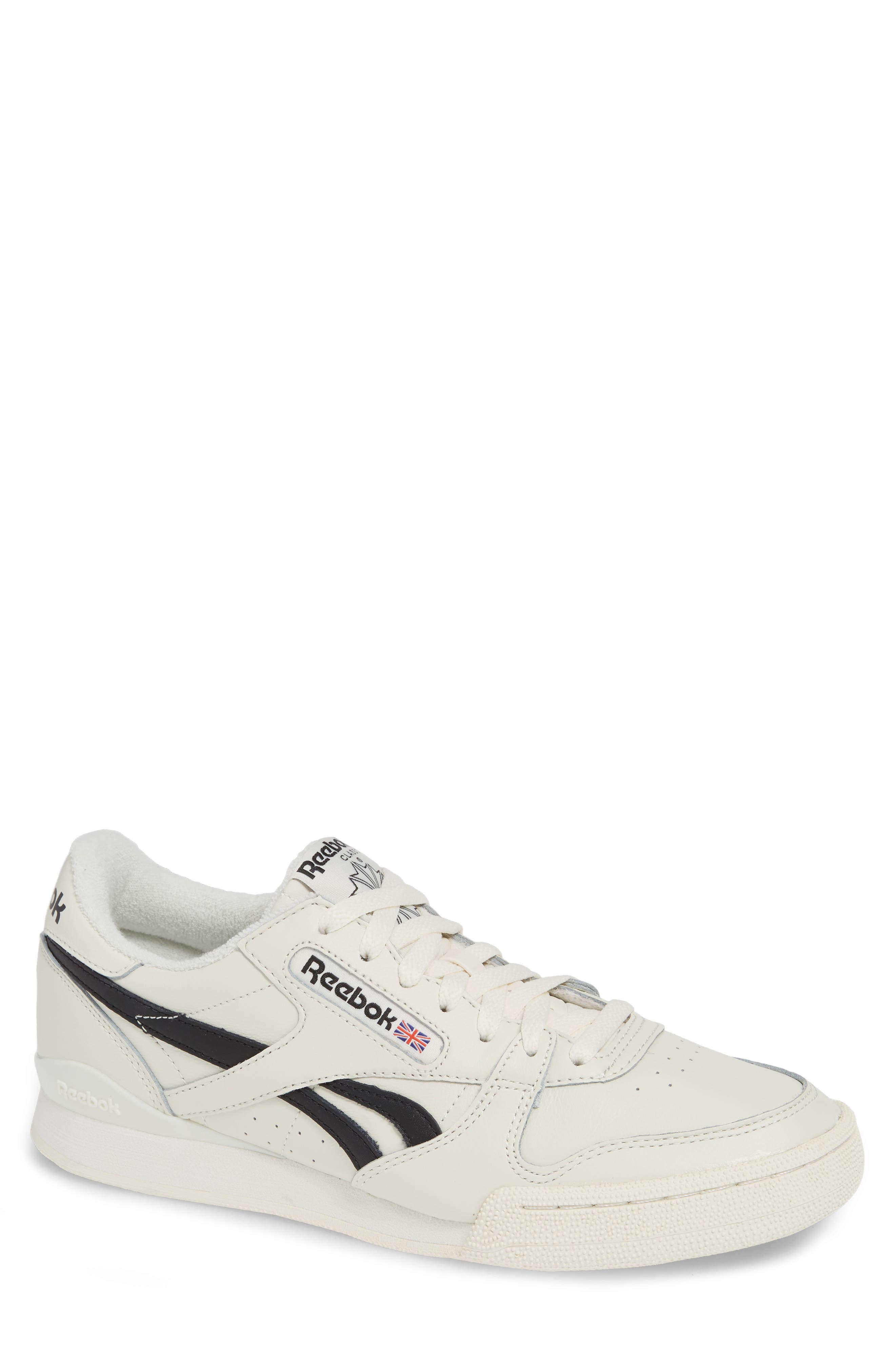 Phase 1 Vintage Pro Sneaker,                         Main,                         color, CHALK/ BLACK