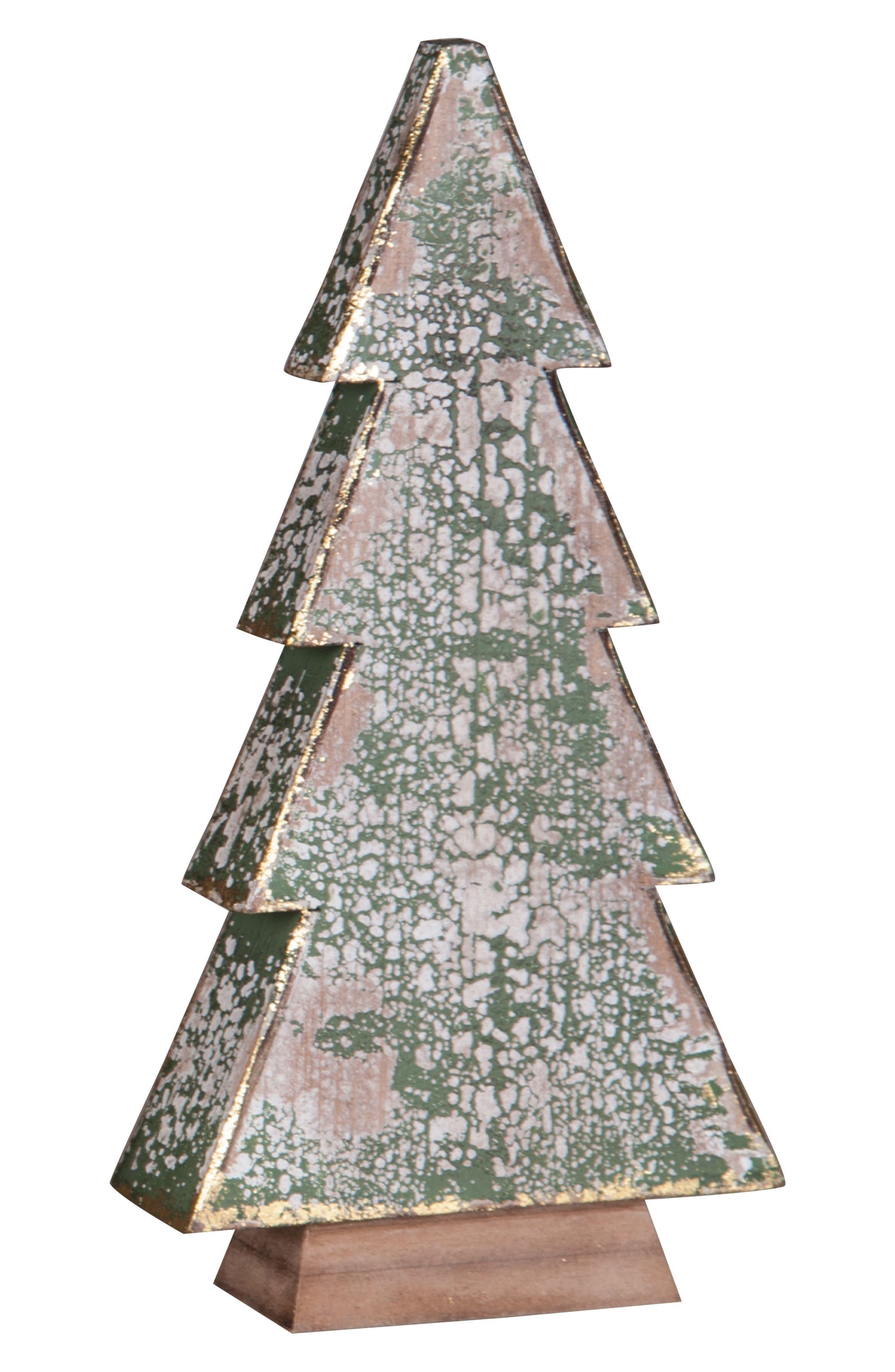 Wood Christmas Tree,                             Main thumbnail 1, color,                             300
