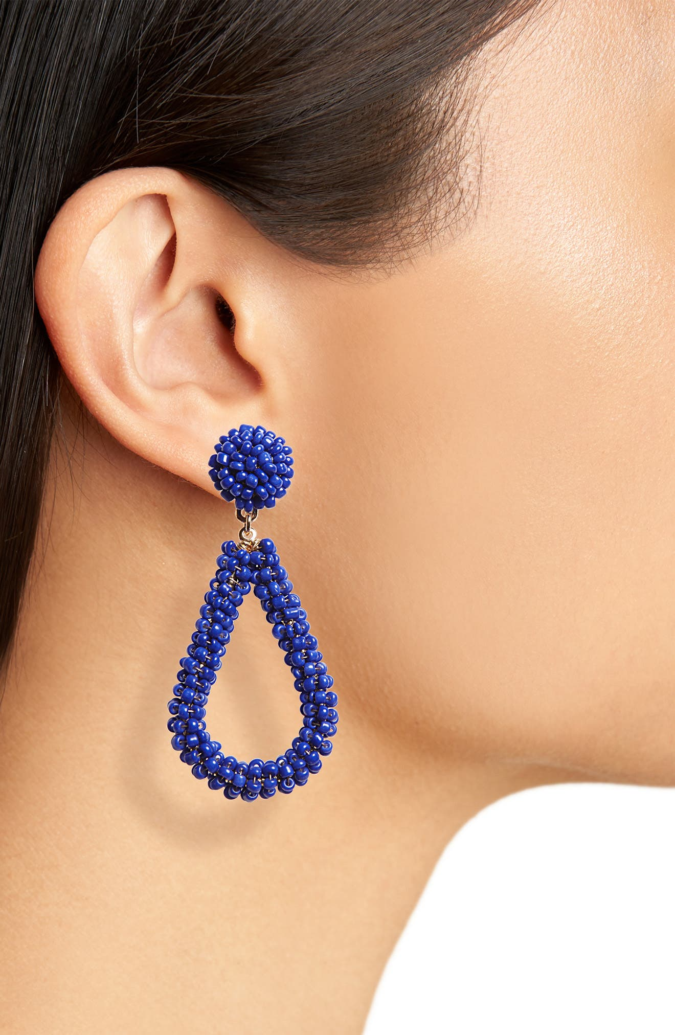 Bead Drop Earrings,                             Alternate thumbnail 8, color,