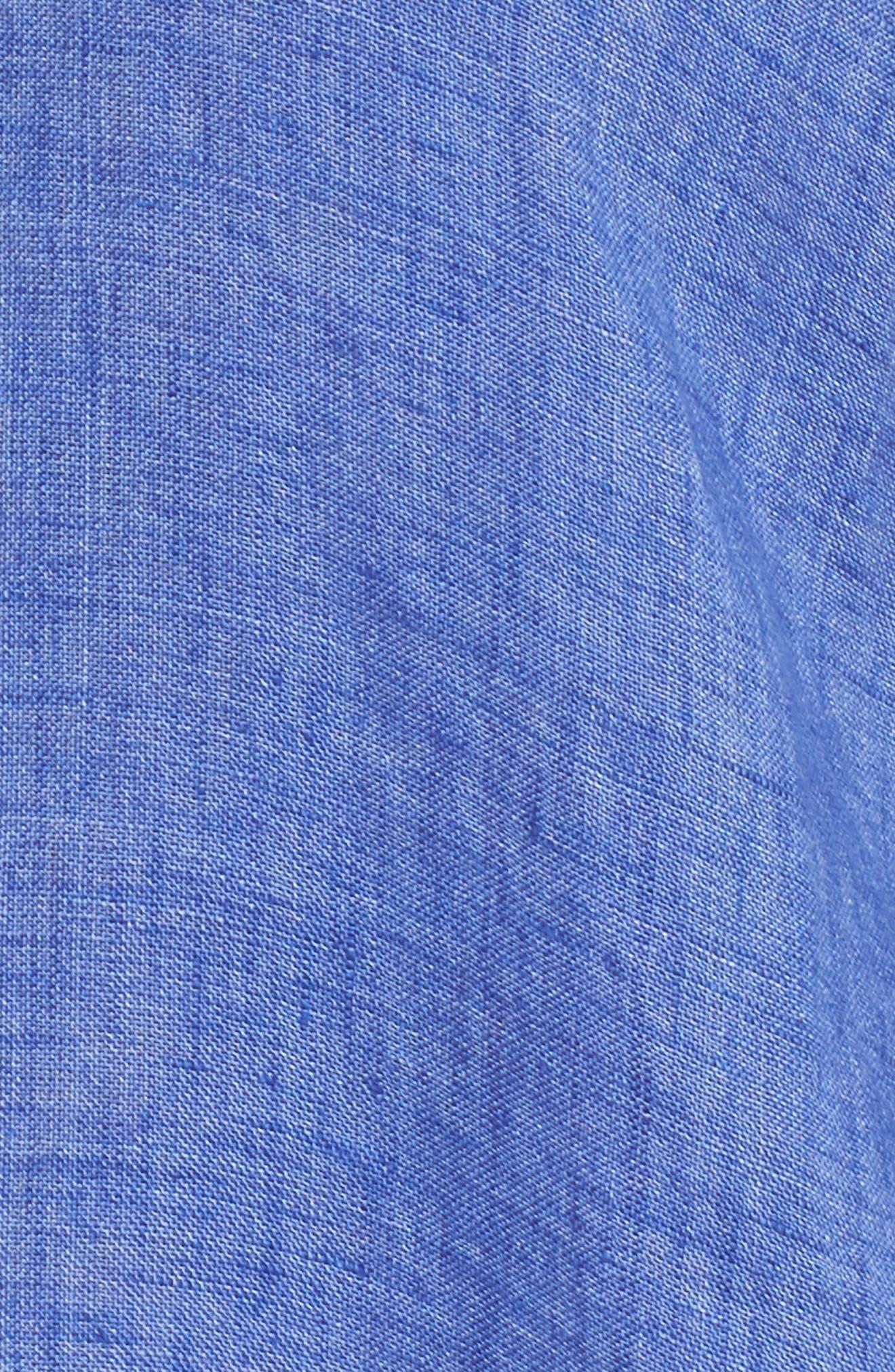 Joy Ride Linen Tunic Top,                             Alternate thumbnail 6, color,