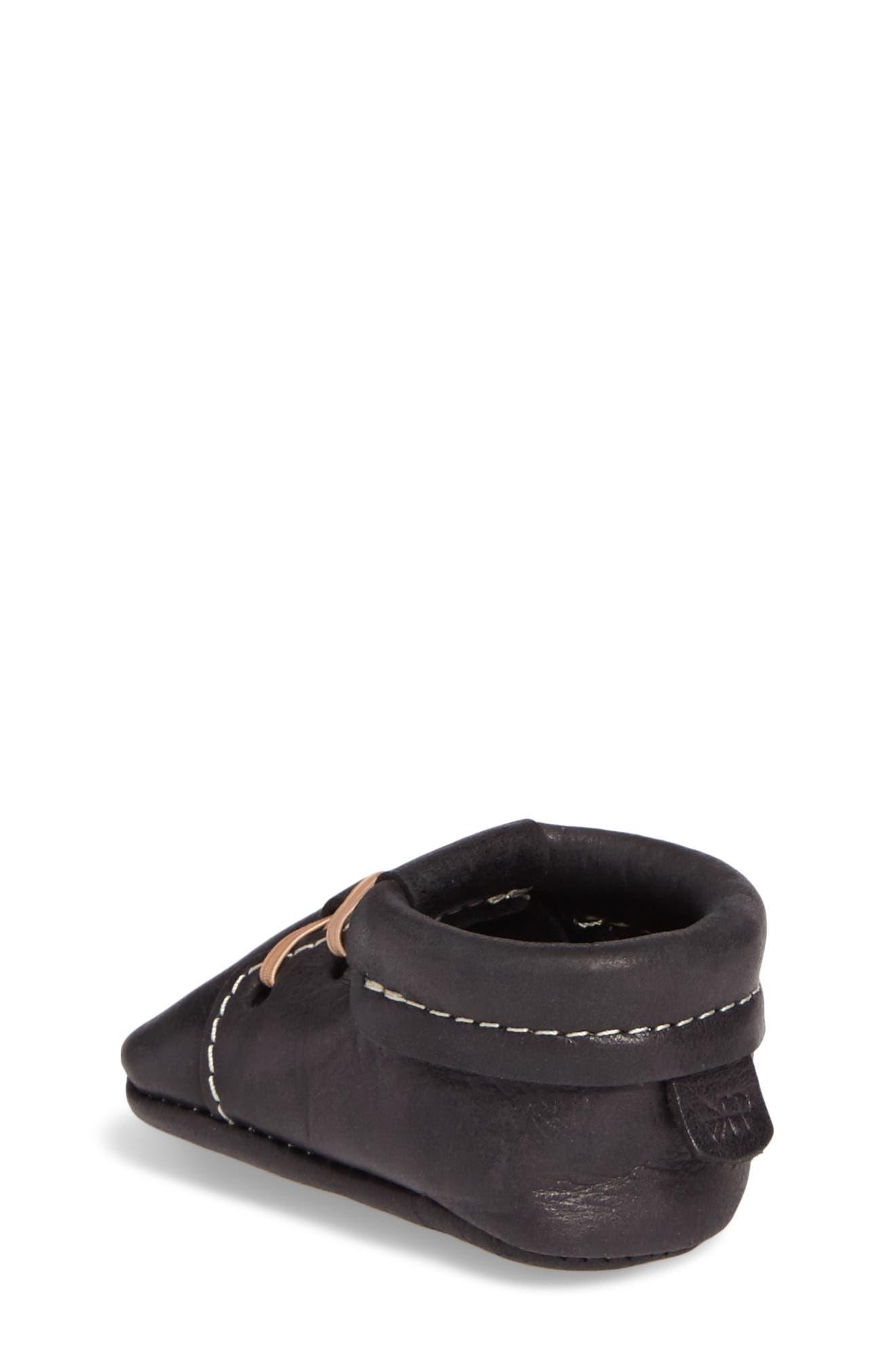 Oxford Crib Shoe,                             Alternate thumbnail 2, color,                             ONYX