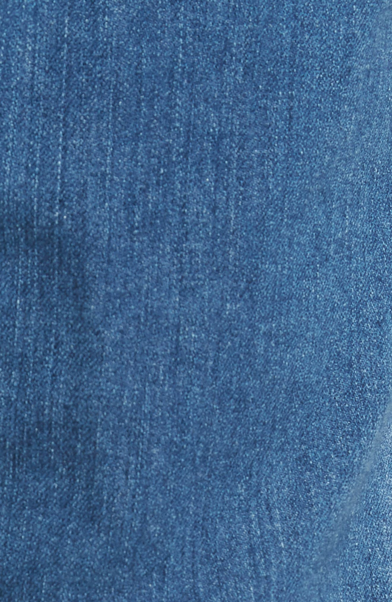 Everett Slim Straight Leg Jeans,                             Alternate thumbnail 5, color,                             SEA WAVE