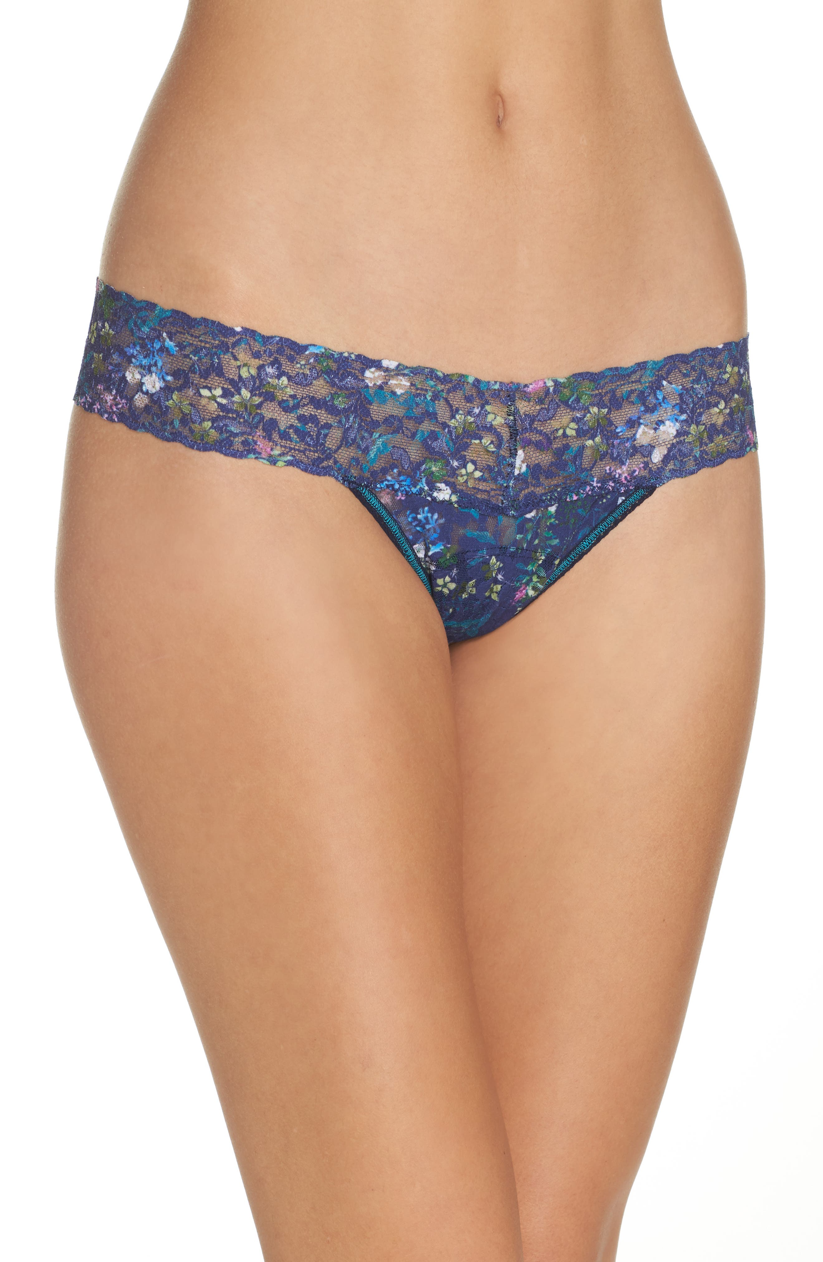 Print Low Rise Thong,                             Main thumbnail 8, color,