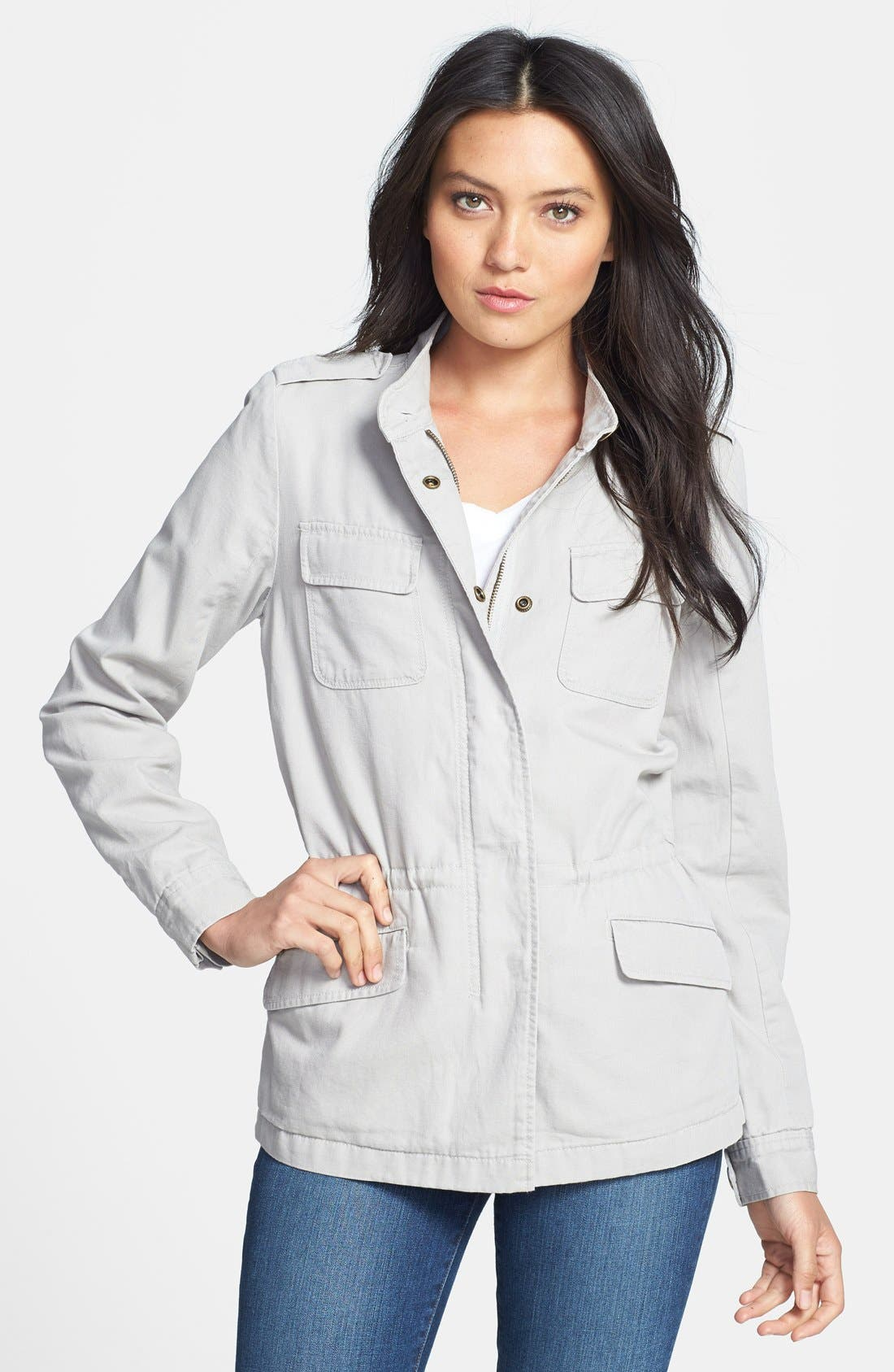 'Expedition' Cotton Twill Jacket,                             Main thumbnail 1, color,
