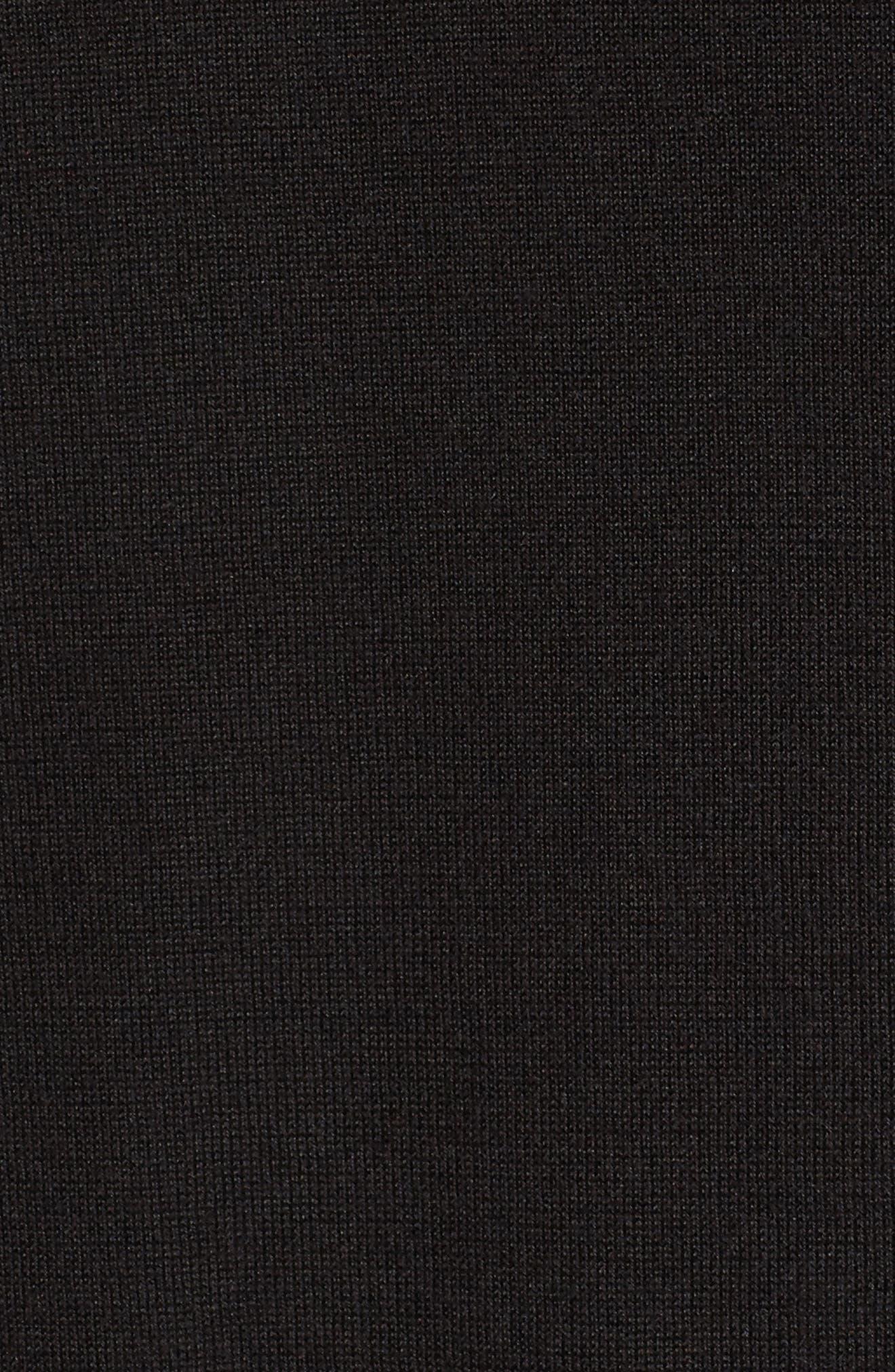 Lace Inset Cashmere Blend Cardigan,                             Alternate thumbnail 2, color,                             001