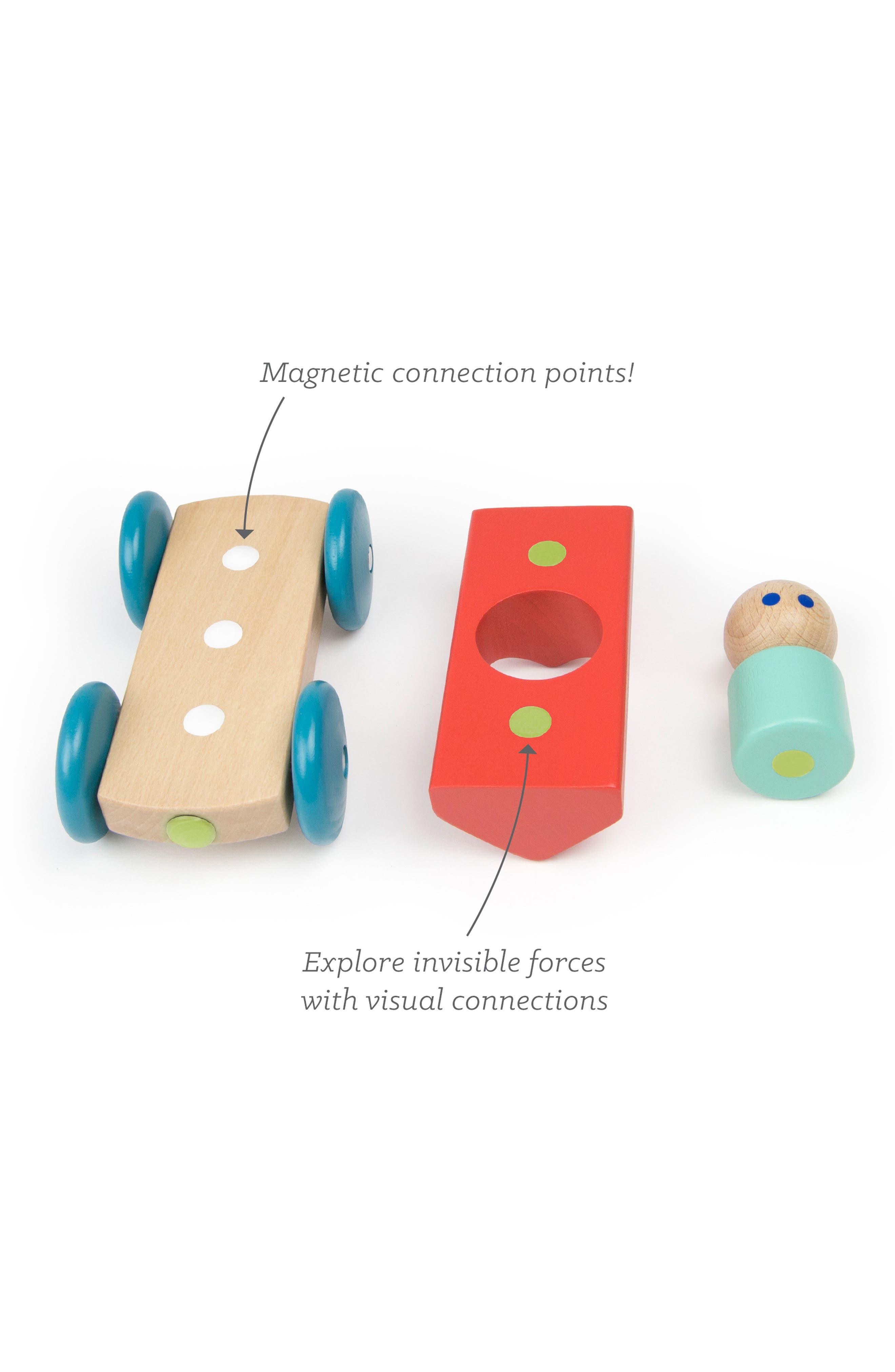Barn Magnetic Racer Toy,                             Alternate thumbnail 7, color,                             RAINBOW