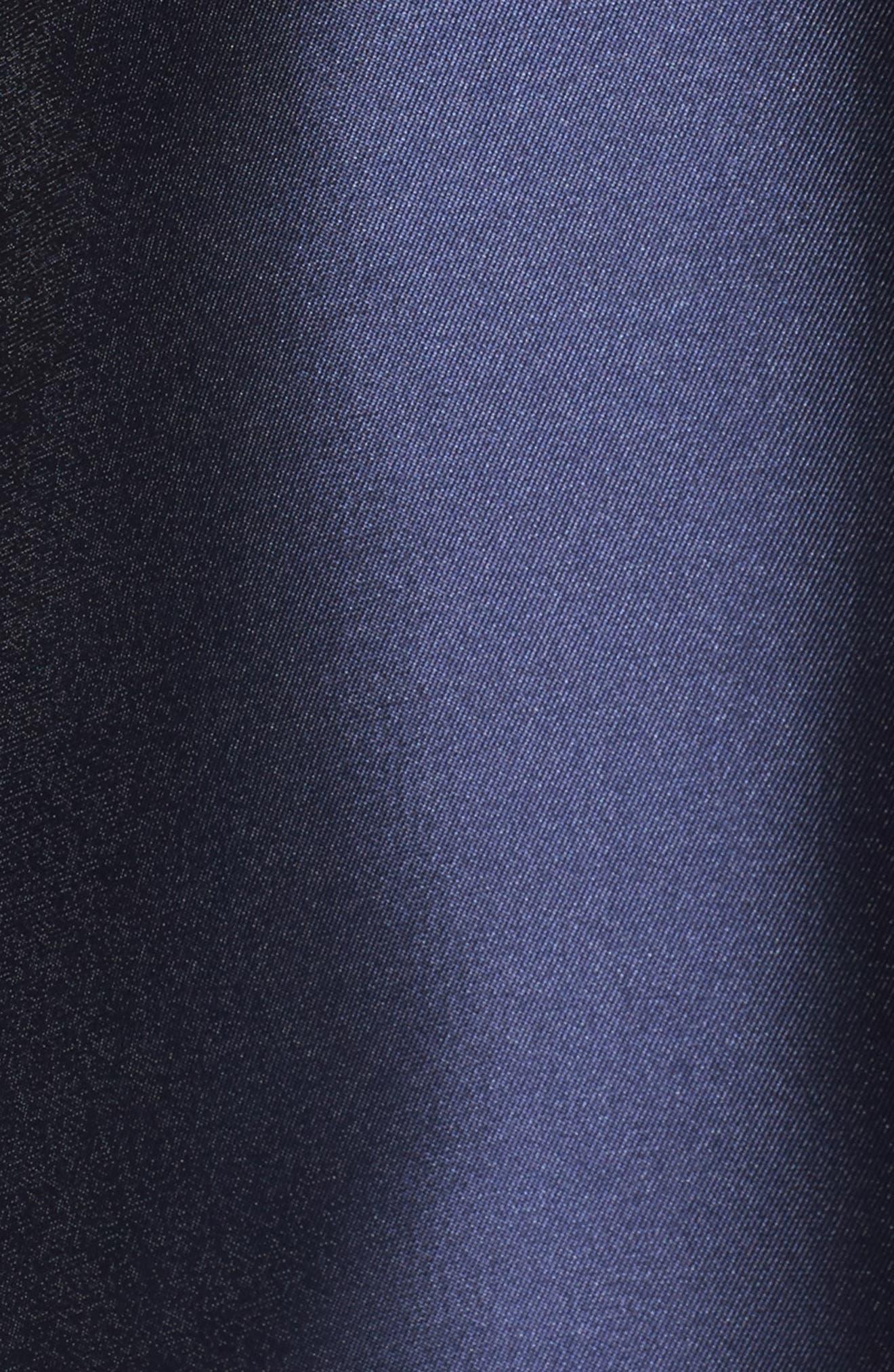Halter Fit & Flare Dress,                             Alternate thumbnail 5, color,                             410