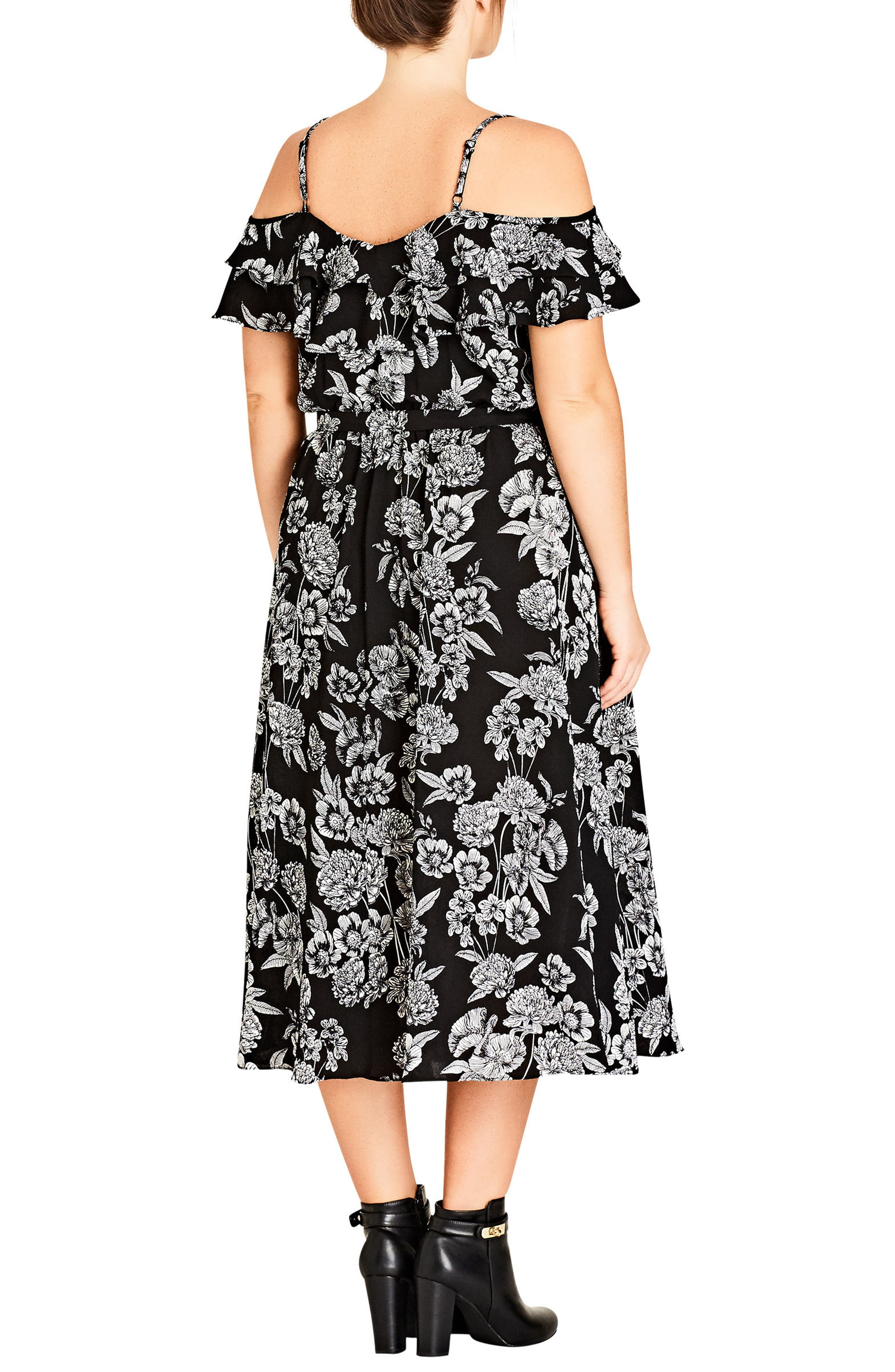 Bloomsbury Midi Dress,                             Alternate thumbnail 2, color,                             001