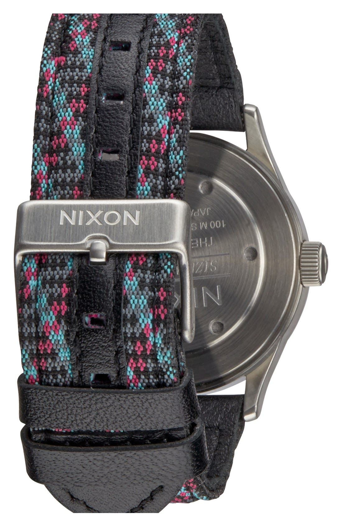 'The Sentry 38' Leather Strap Watch, 38mm,                             Alternate thumbnail 31, color,