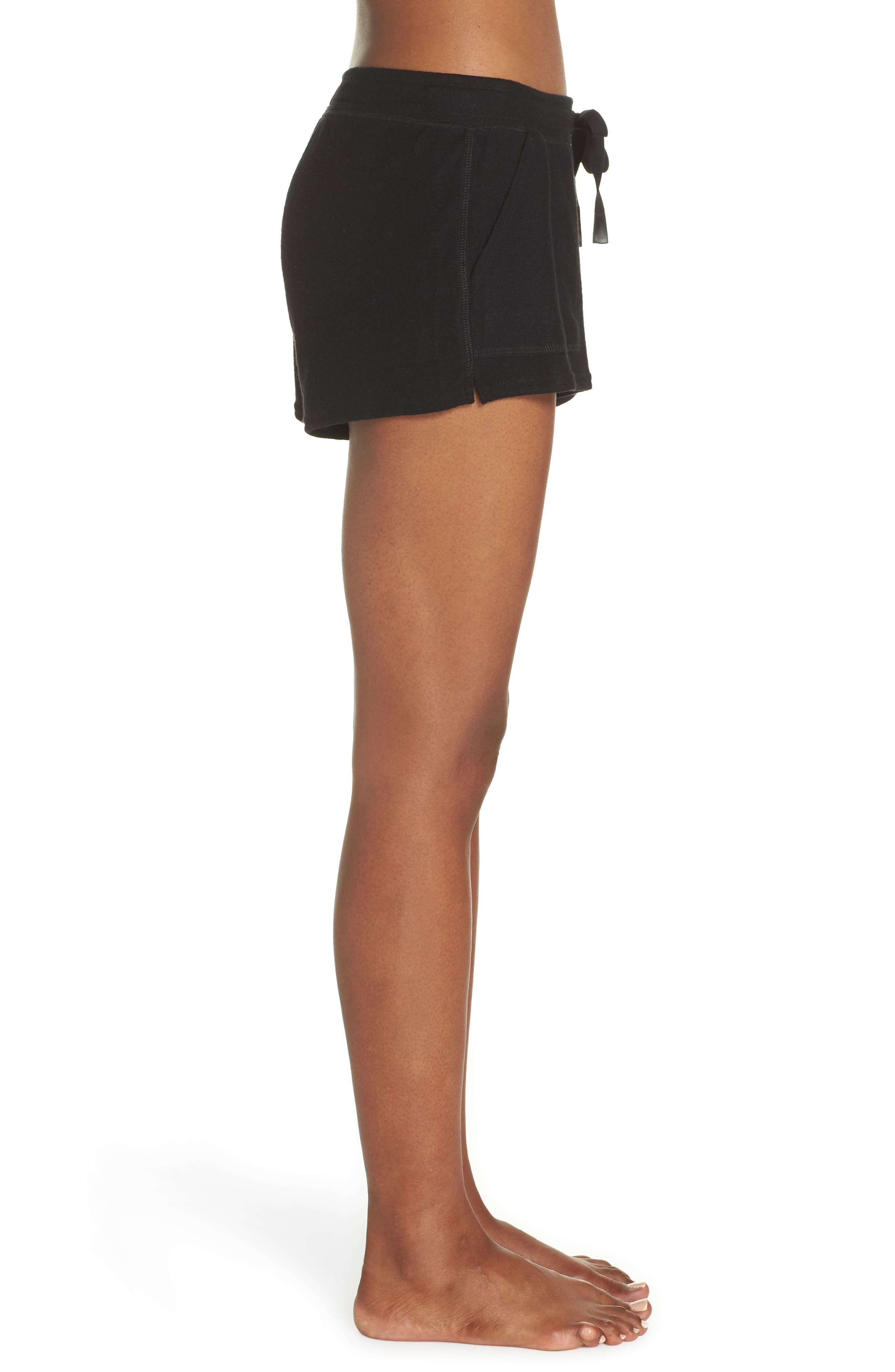 Daze Shorts,                             Alternate thumbnail 3, color,                             BLACK