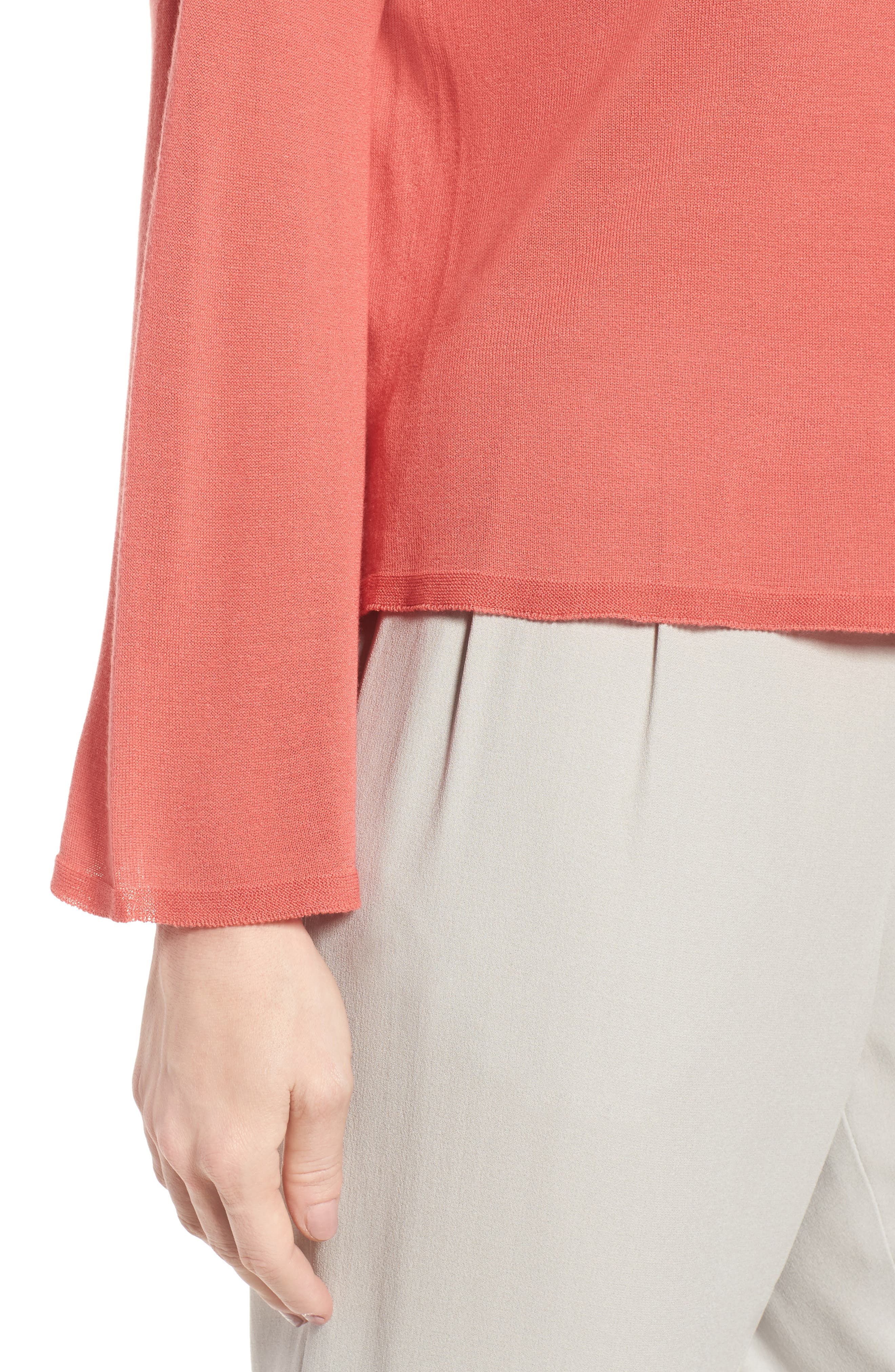 Tencel<sup>®</sup> Lyocell Knit Sweater,                             Alternate thumbnail 12, color,