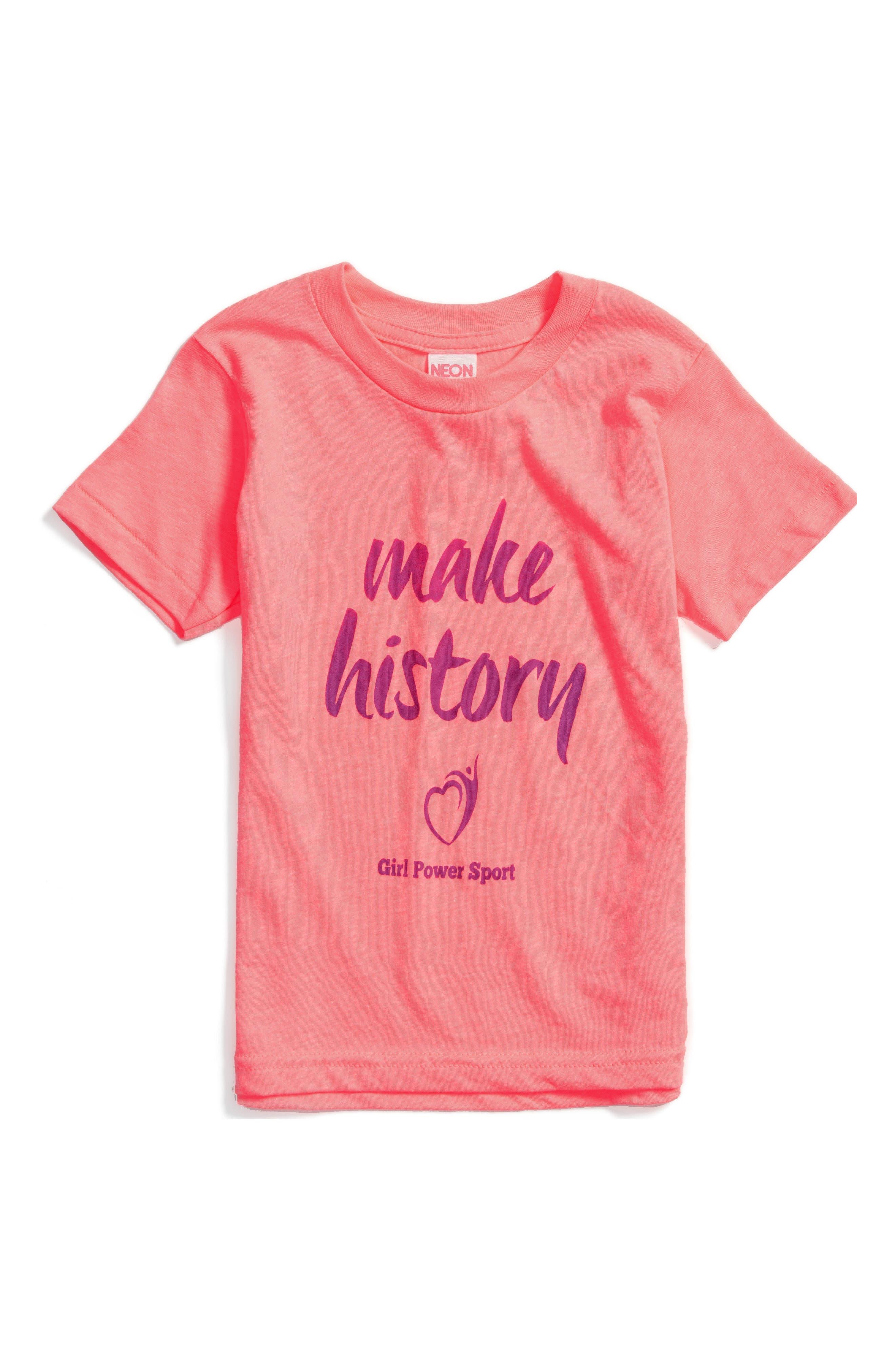 Make History Graphic Tee,                             Alternate thumbnail 2, color,                             650