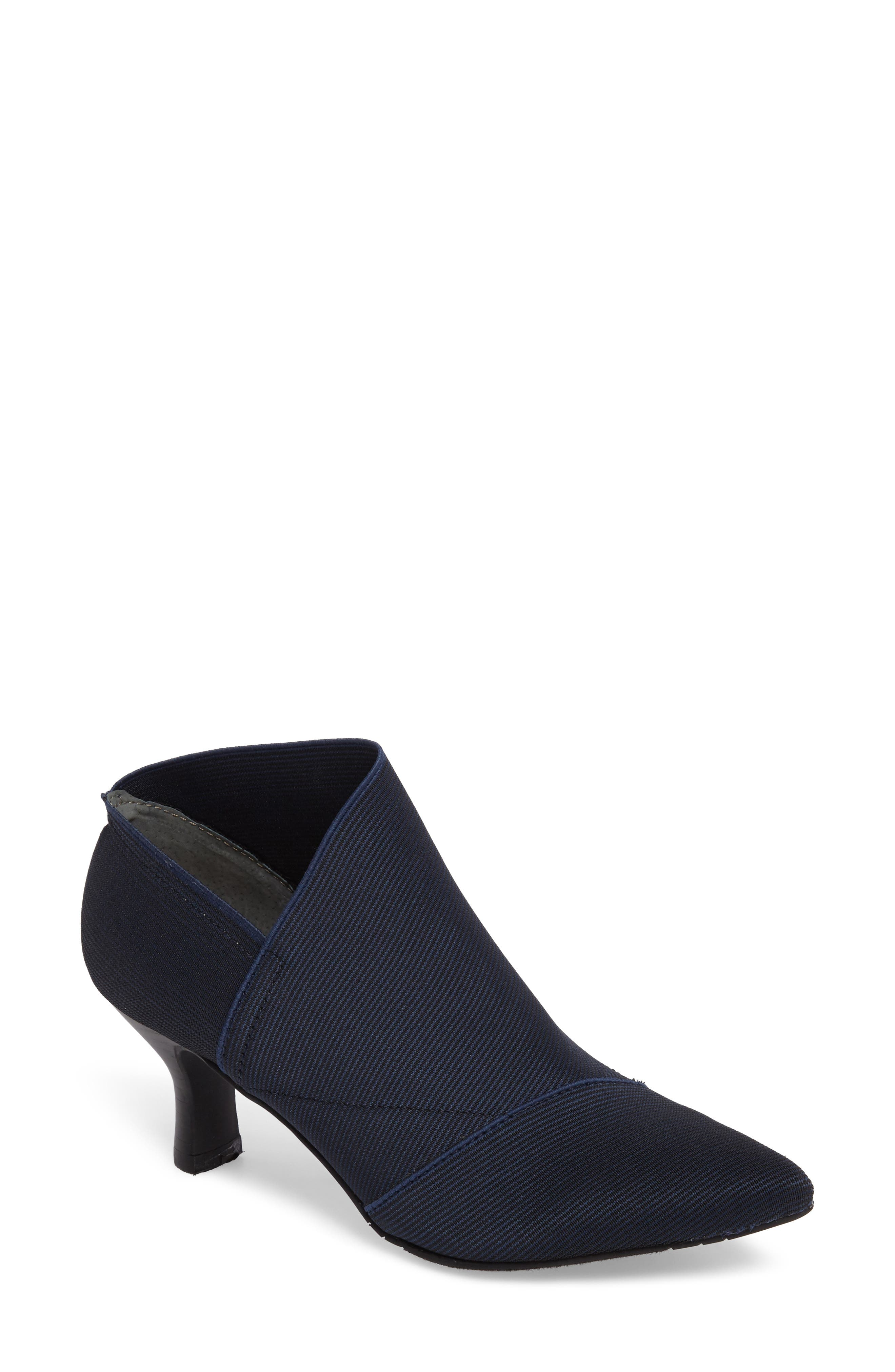 Adrianna Papell Hayes Pointy Toe Bootie- Blue