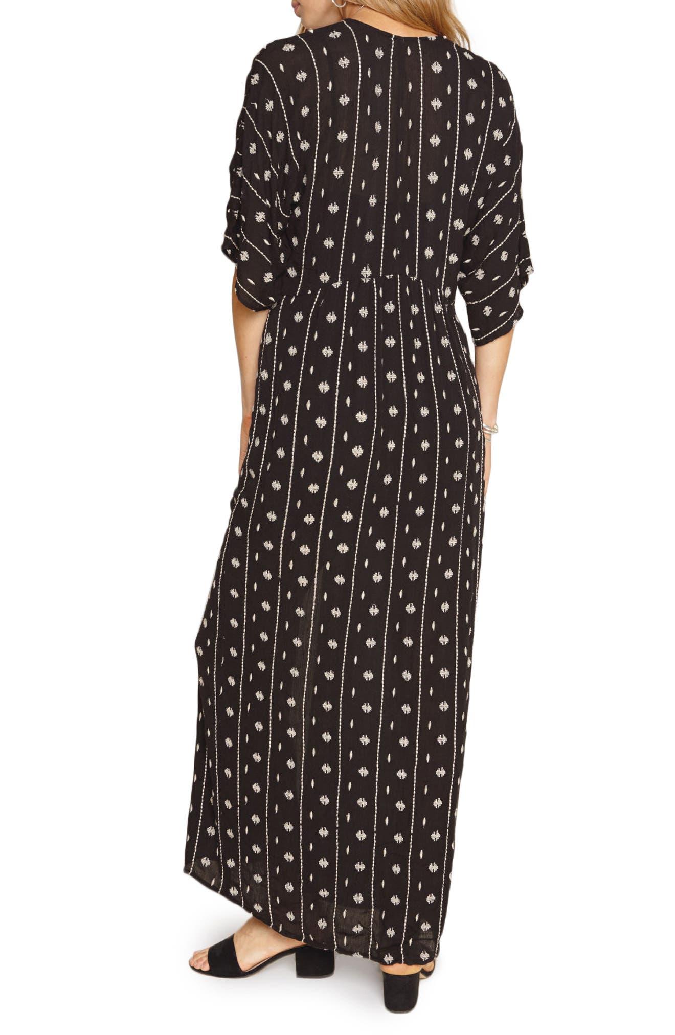 Lyla Print Maxi Dress,                             Alternate thumbnail 2, color,                             001