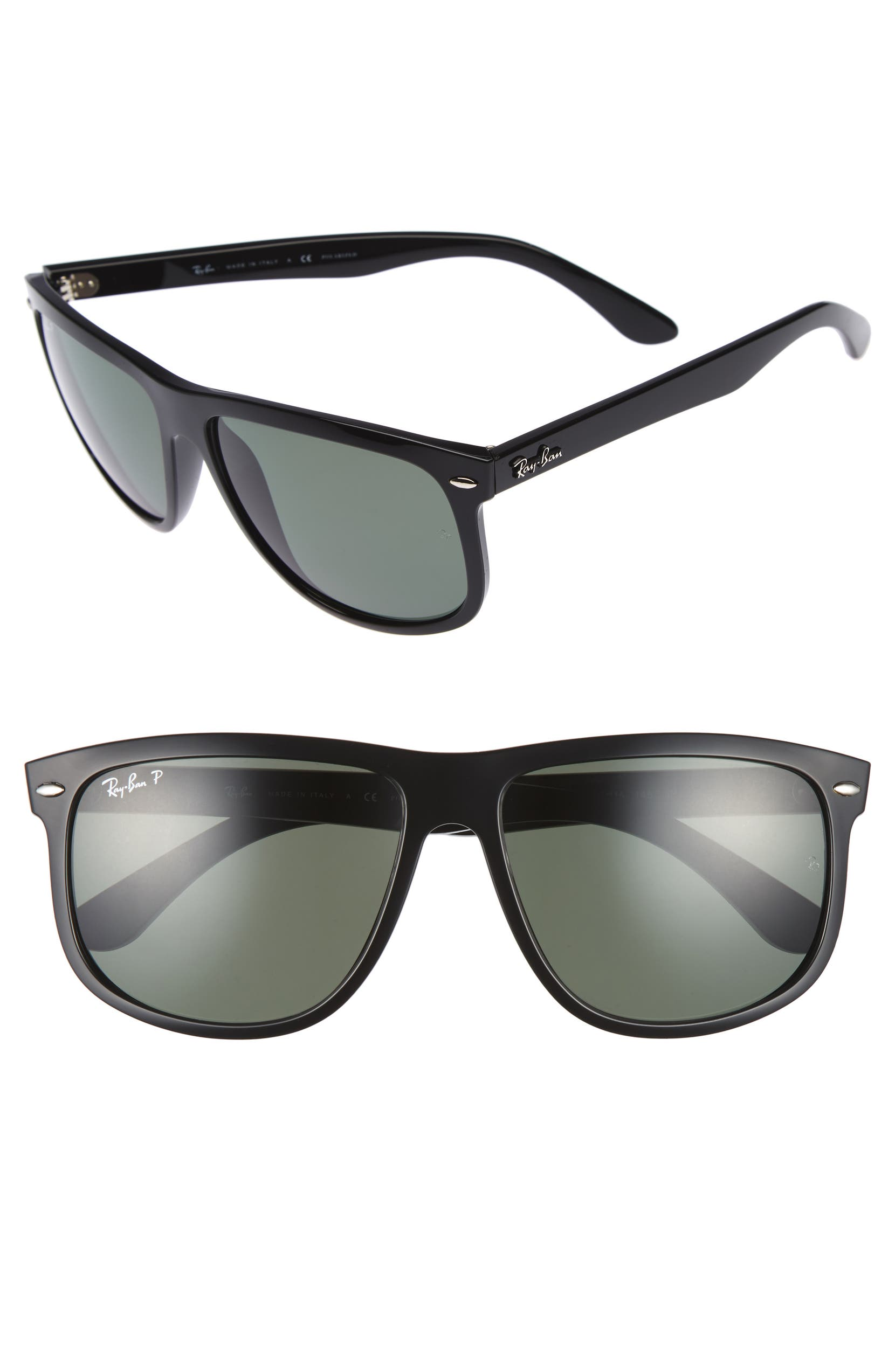 c6822cb52ca Ray-Ban  Boyfriend  60mm Polarized Sunglasses