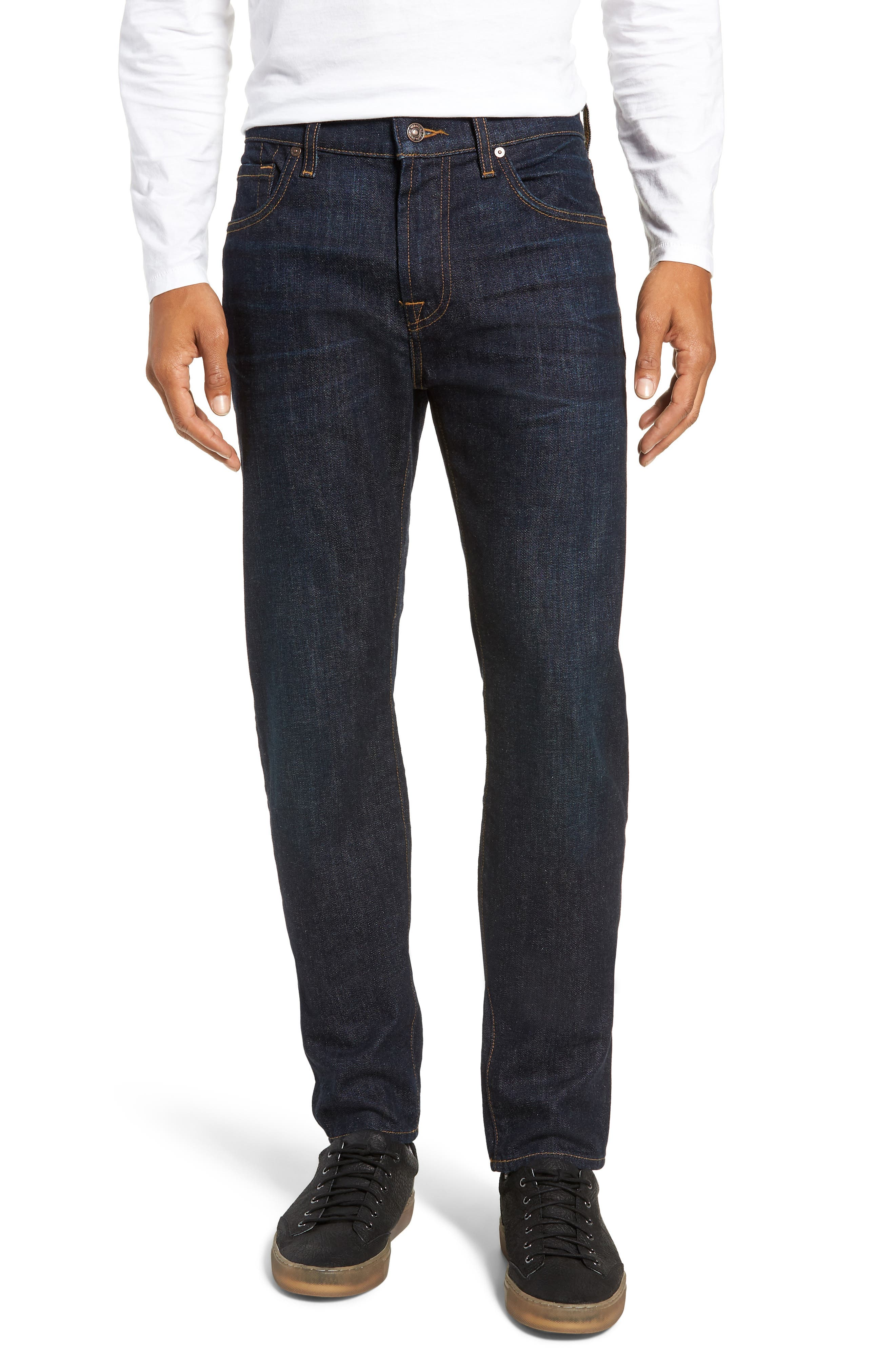 Ryley Skinny Fit Jeans, Main, color, 400