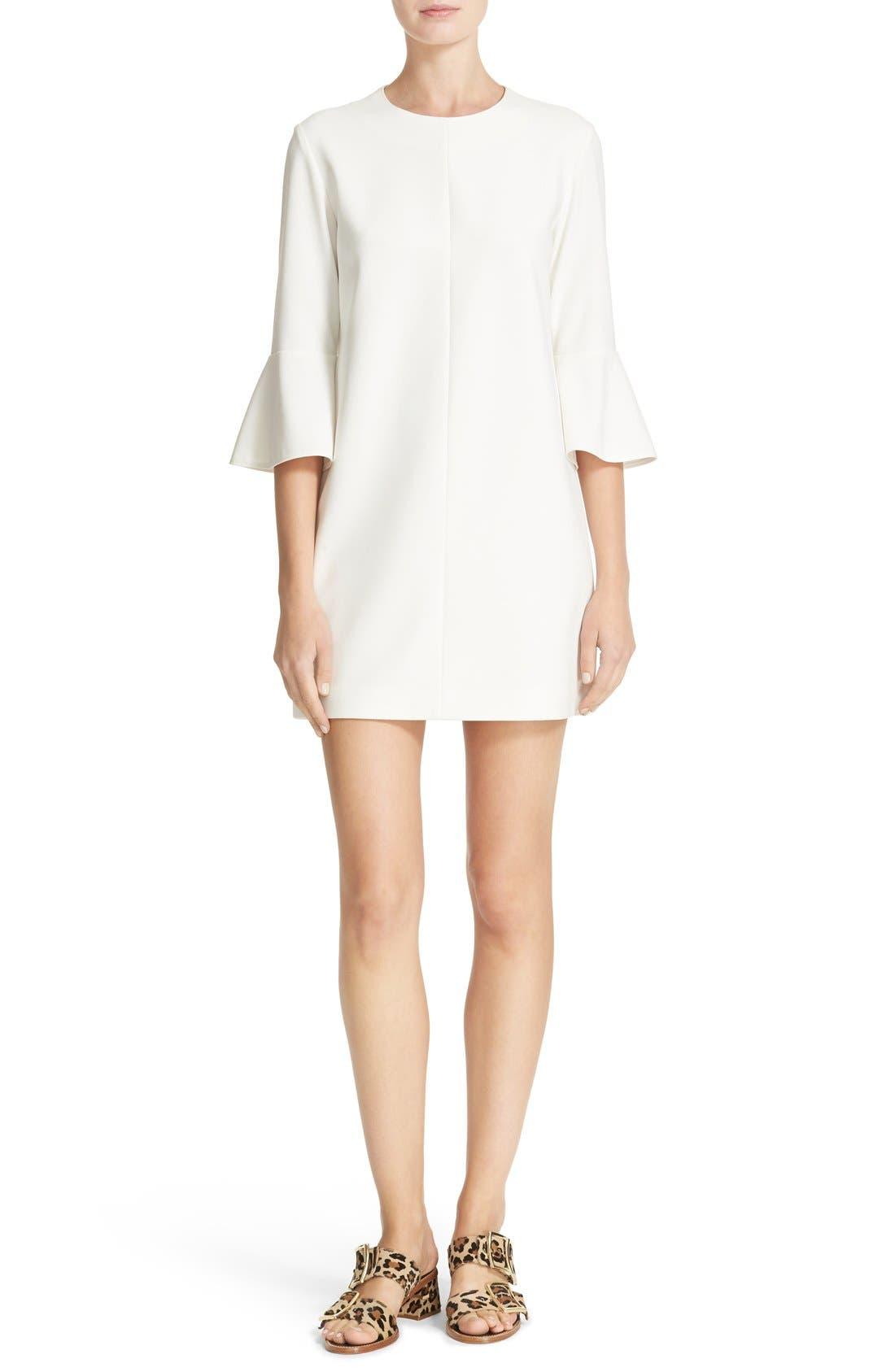 Bell Sleeve Dress,                             Main thumbnail 1, color,                             104