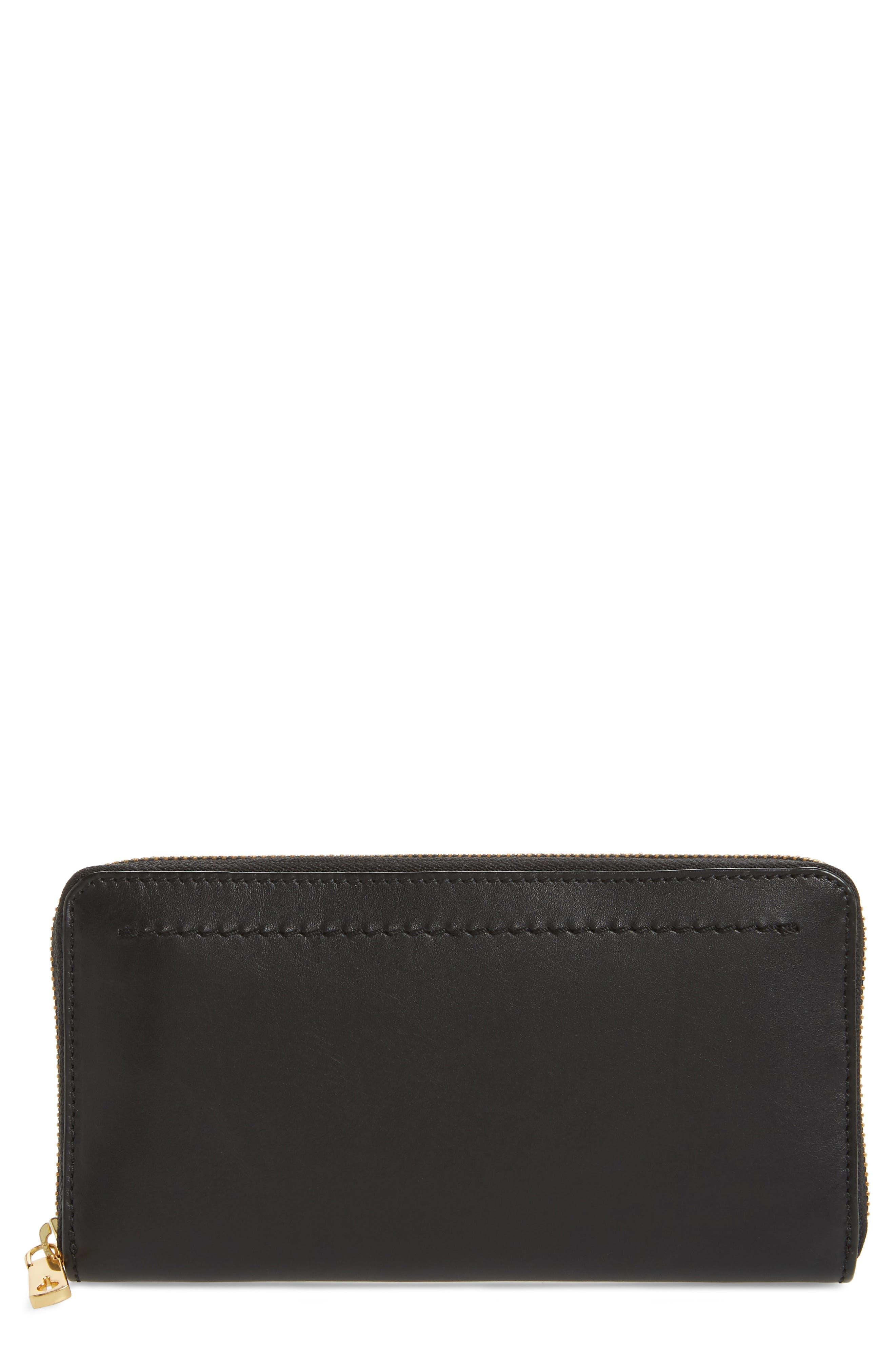 Zoe Continental Zip Wallet,                             Main thumbnail 1, color,