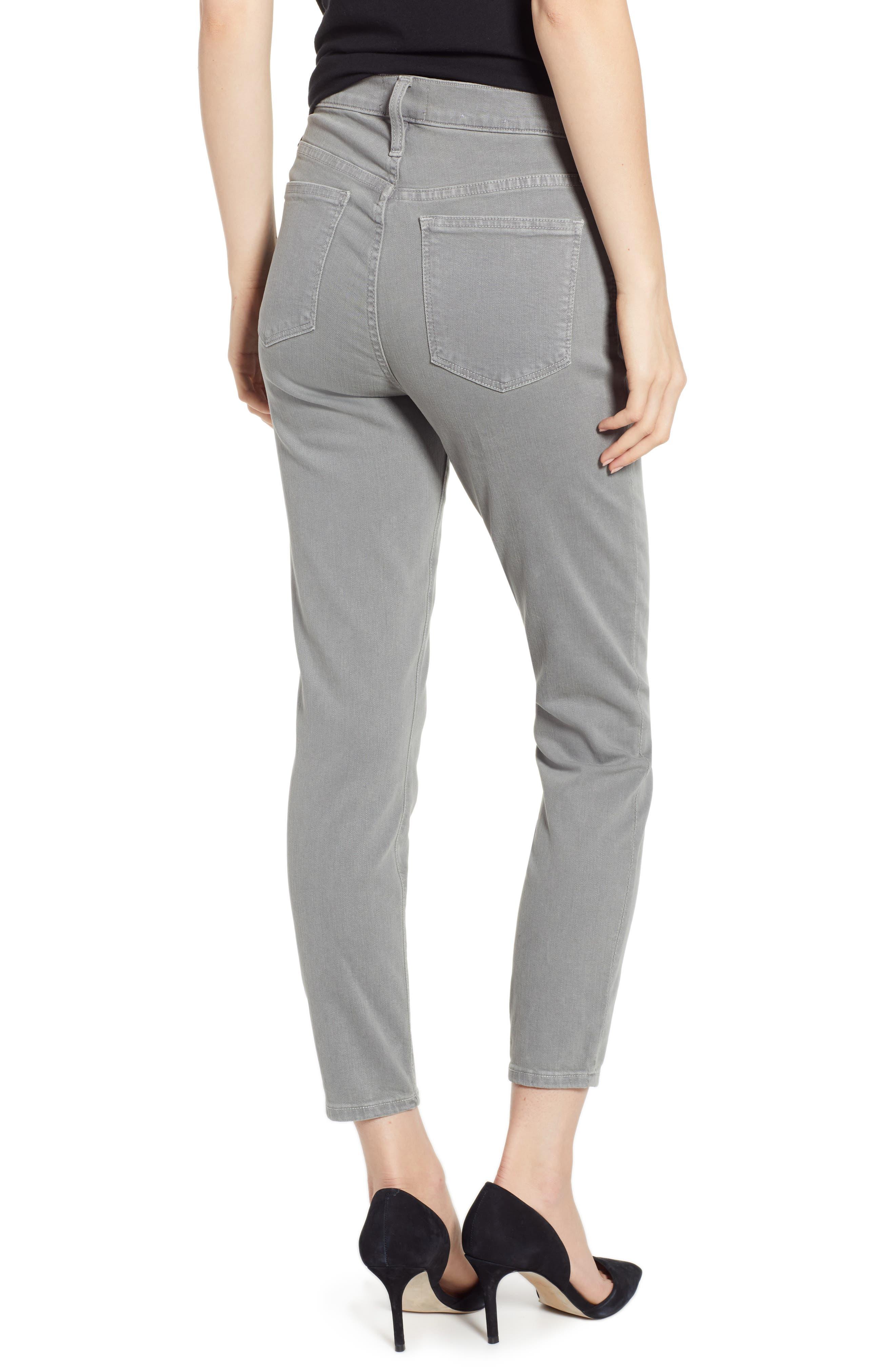 CASLON<SUP>®</SUP>,                             Sierra High Waist Ankle Skinny Pants,                             Alternate thumbnail 2, color,                             021