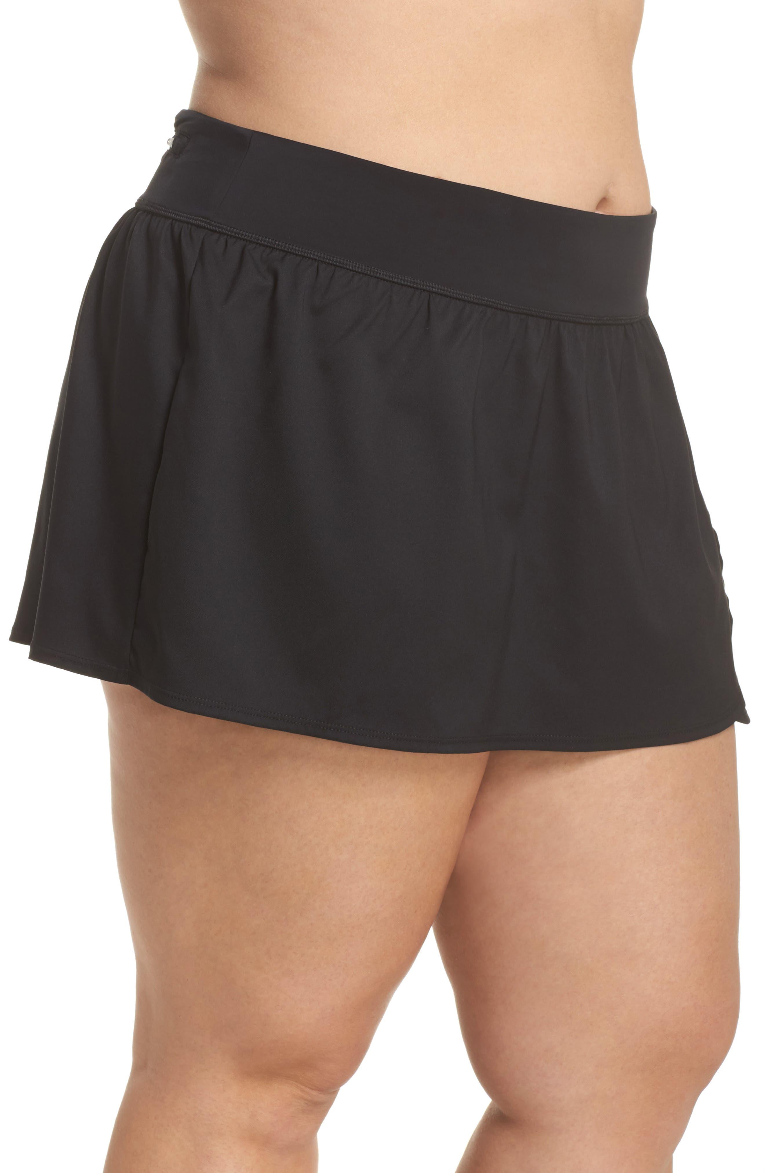 Swim Board Skirt,                             Alternate thumbnail 3, color,                             001