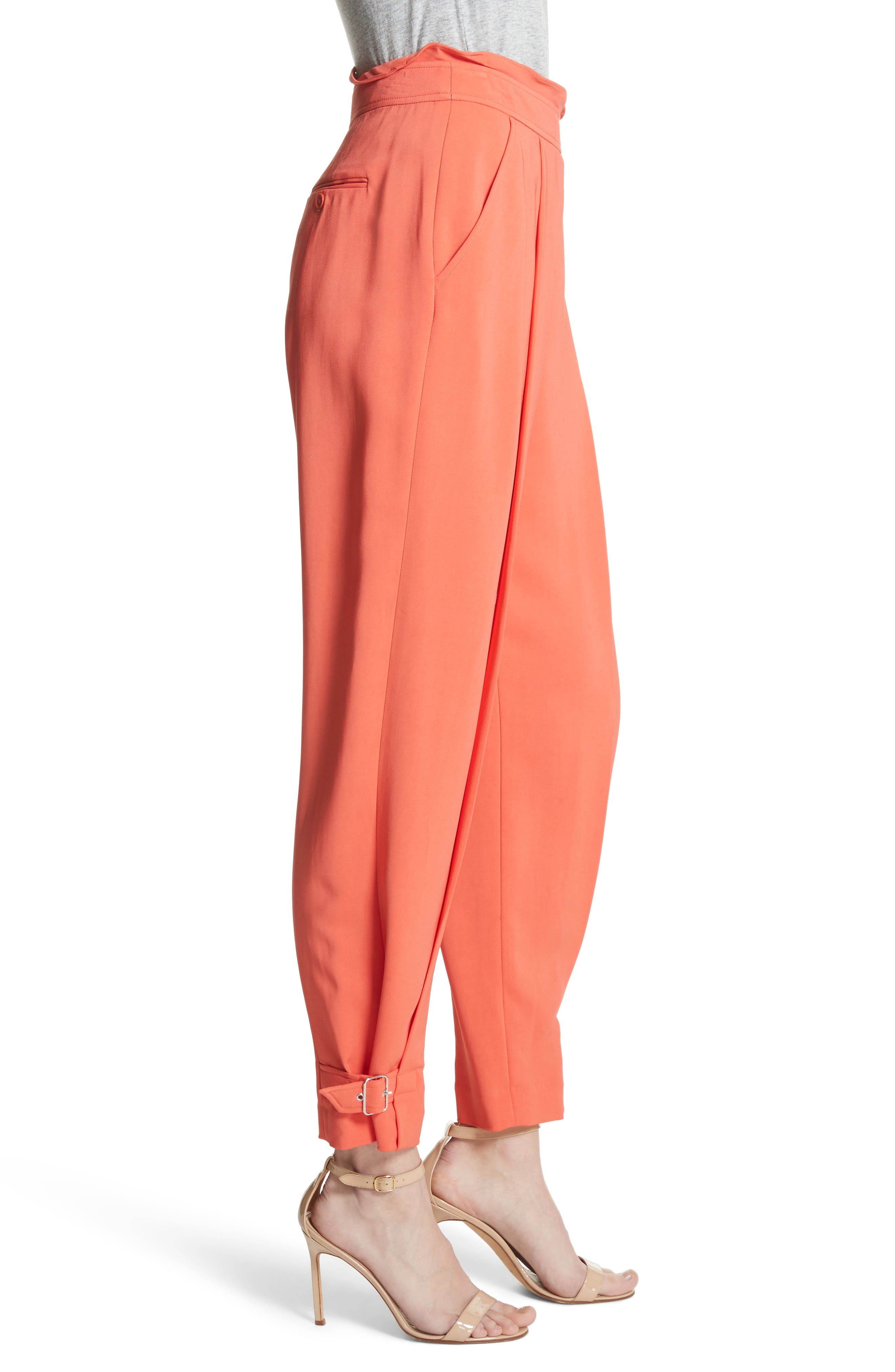 Belted Trousers,                             Alternate thumbnail 3, color,                             950