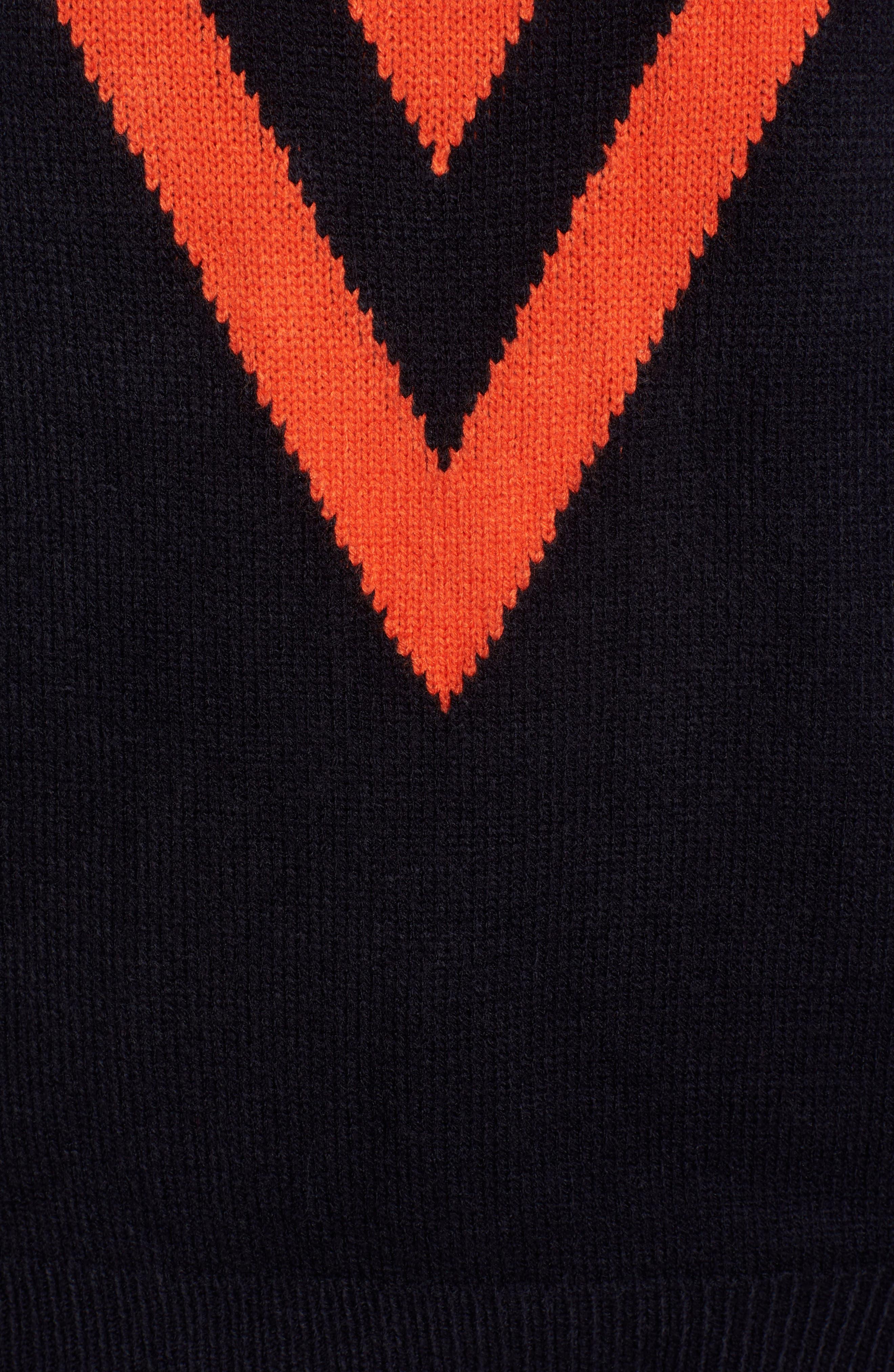 Varsity Sweater,                             Alternate thumbnail 5, color,                             400
