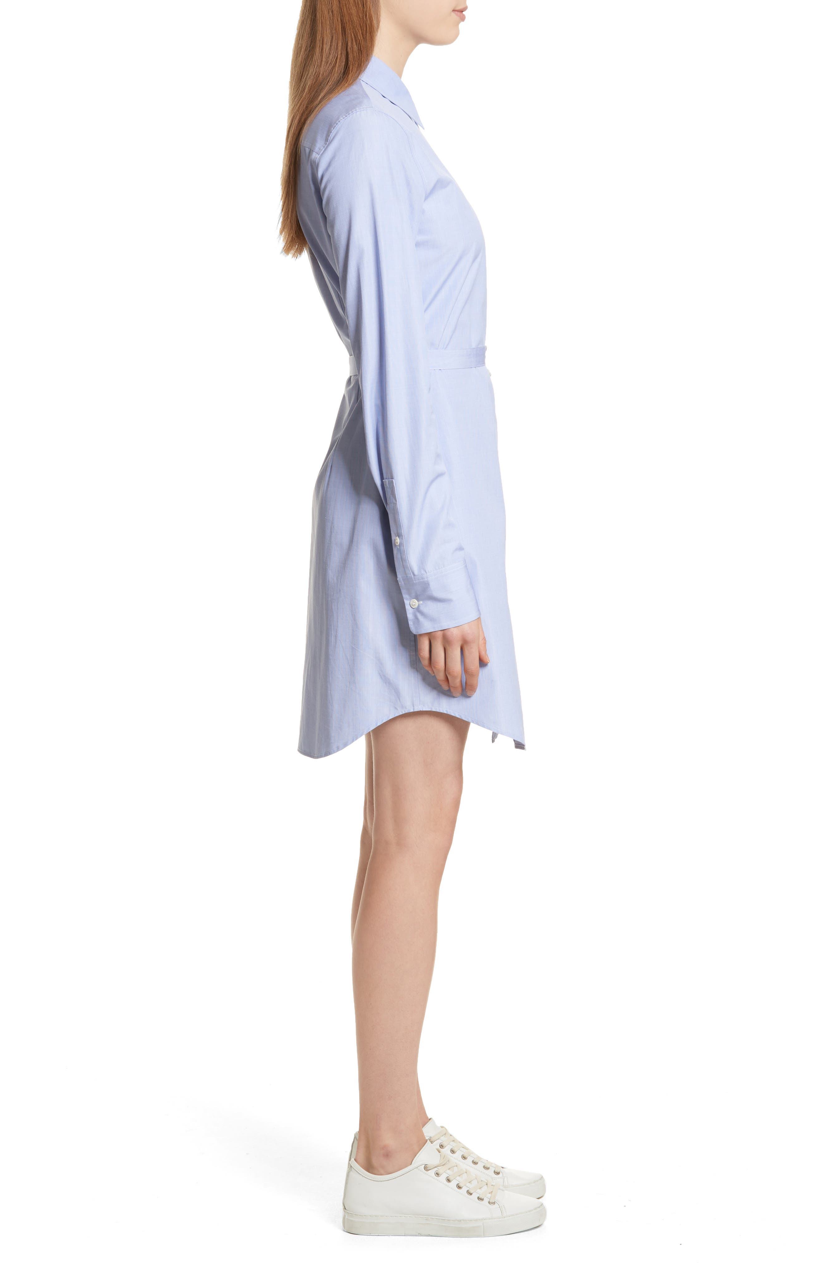 Crowley Cotton Shirtdress,                             Alternate thumbnail 3, color,                             473