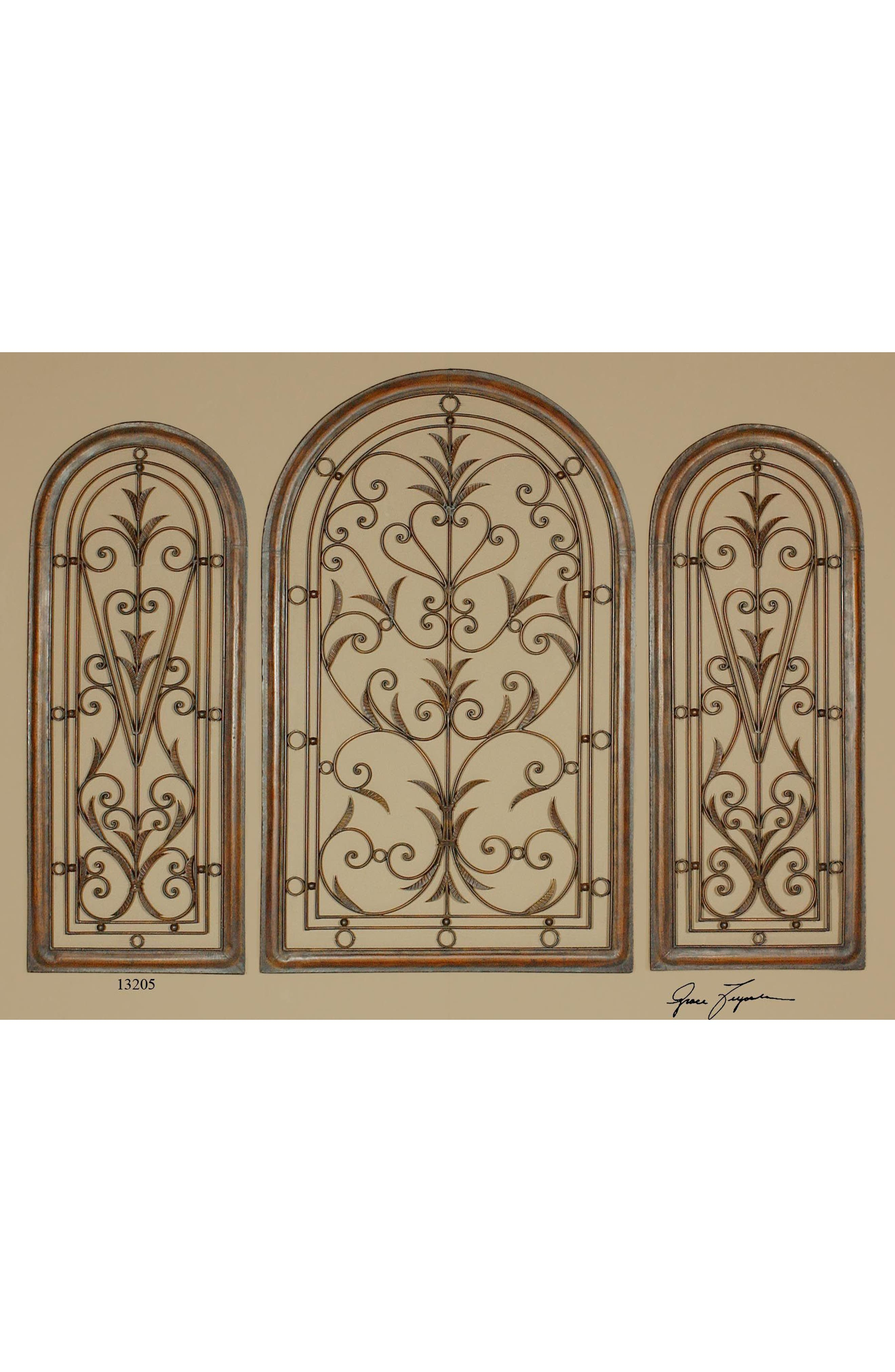 Cristy Small Metal Wall Art,                             Alternate thumbnail 2, color,                             040