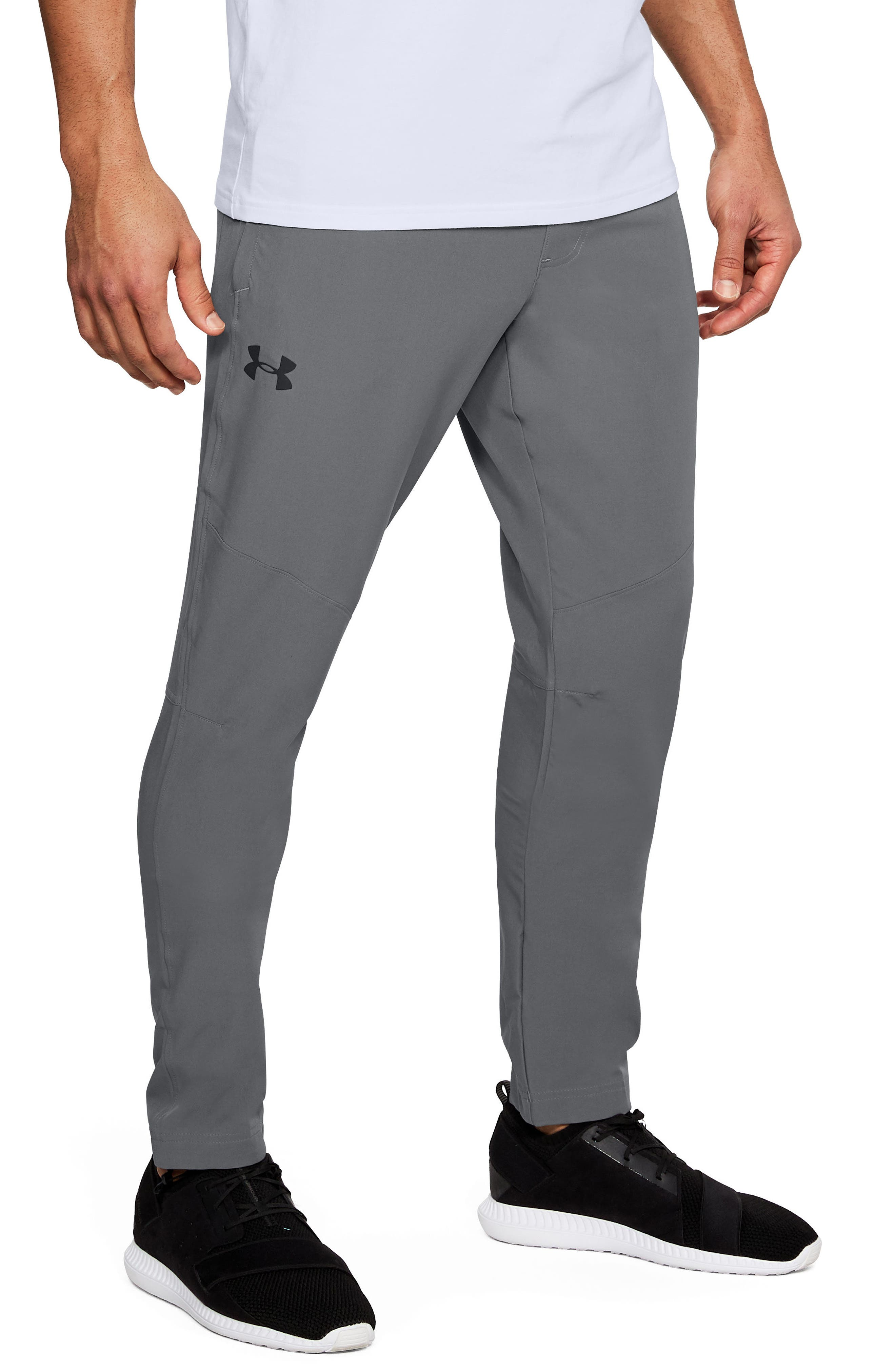 Fitted Woven Training Pants,                             Main thumbnail 3, color,