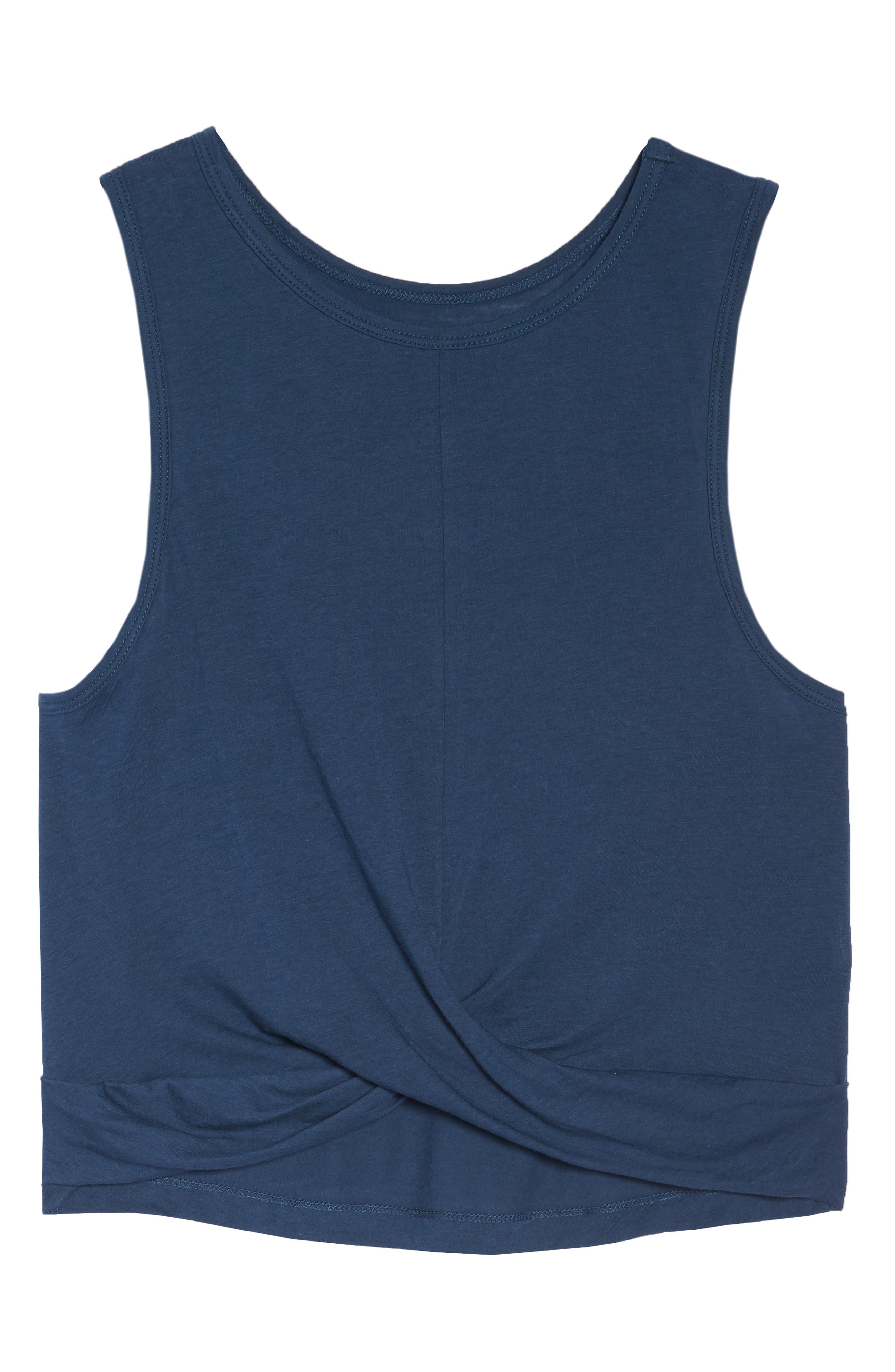 Crossroads Crop Tank,                             Alternate thumbnail 8, color,                             OUTLAW NAVY