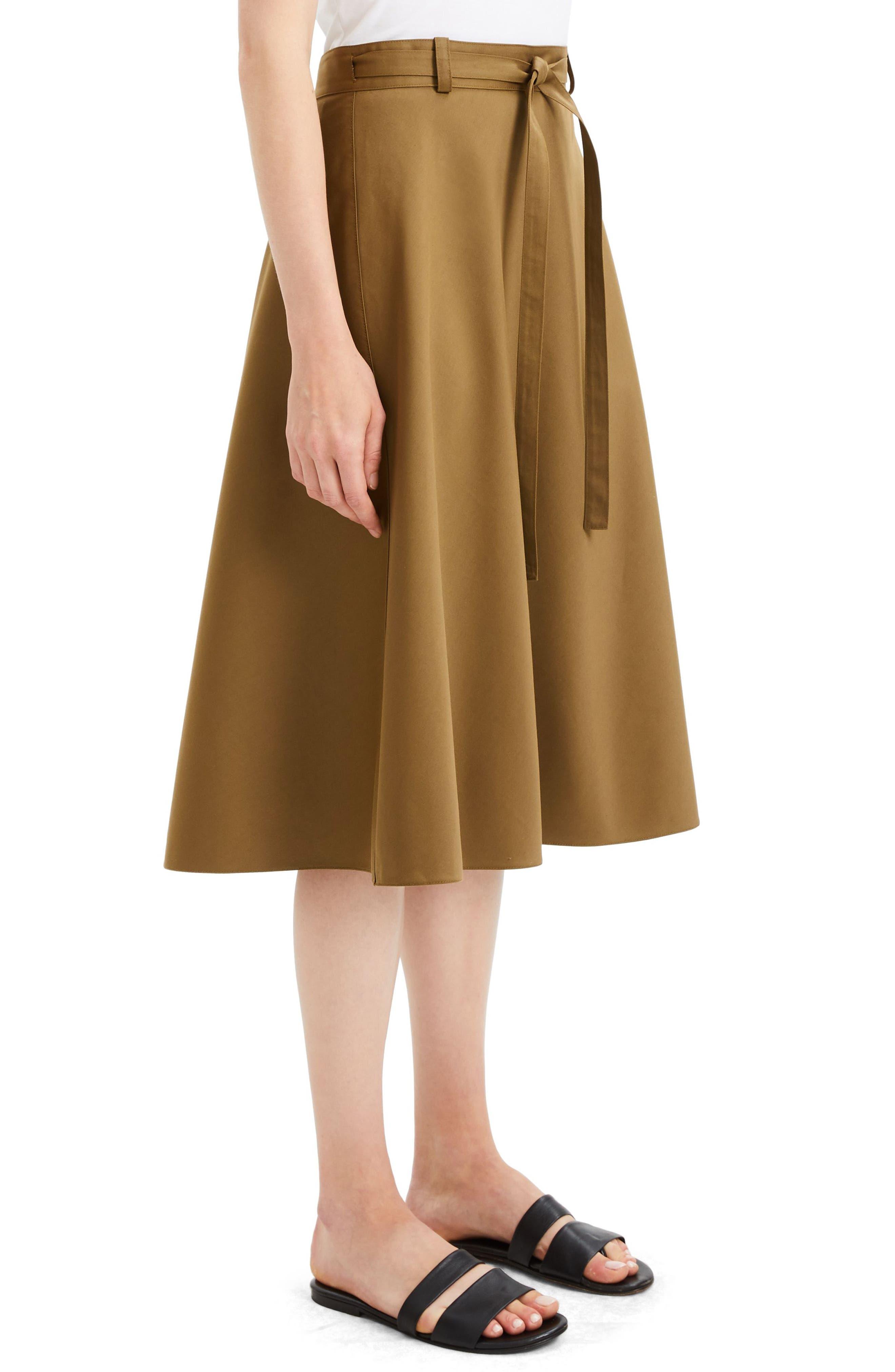 Workwear Skirt,                             Alternate thumbnail 3, color,                             ALLSPICE