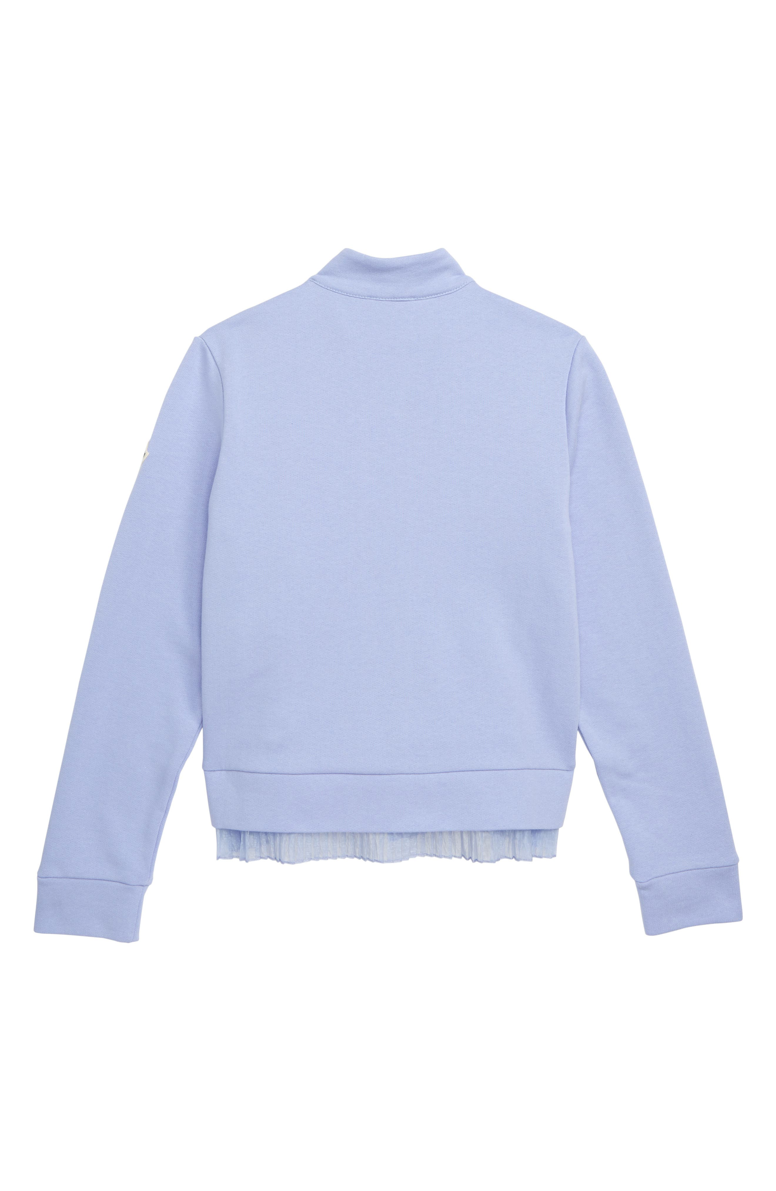MONCLER,                             Maglia Quilted Down & Knit Cardigan,                             Alternate thumbnail 2, color,                             604 LILAC