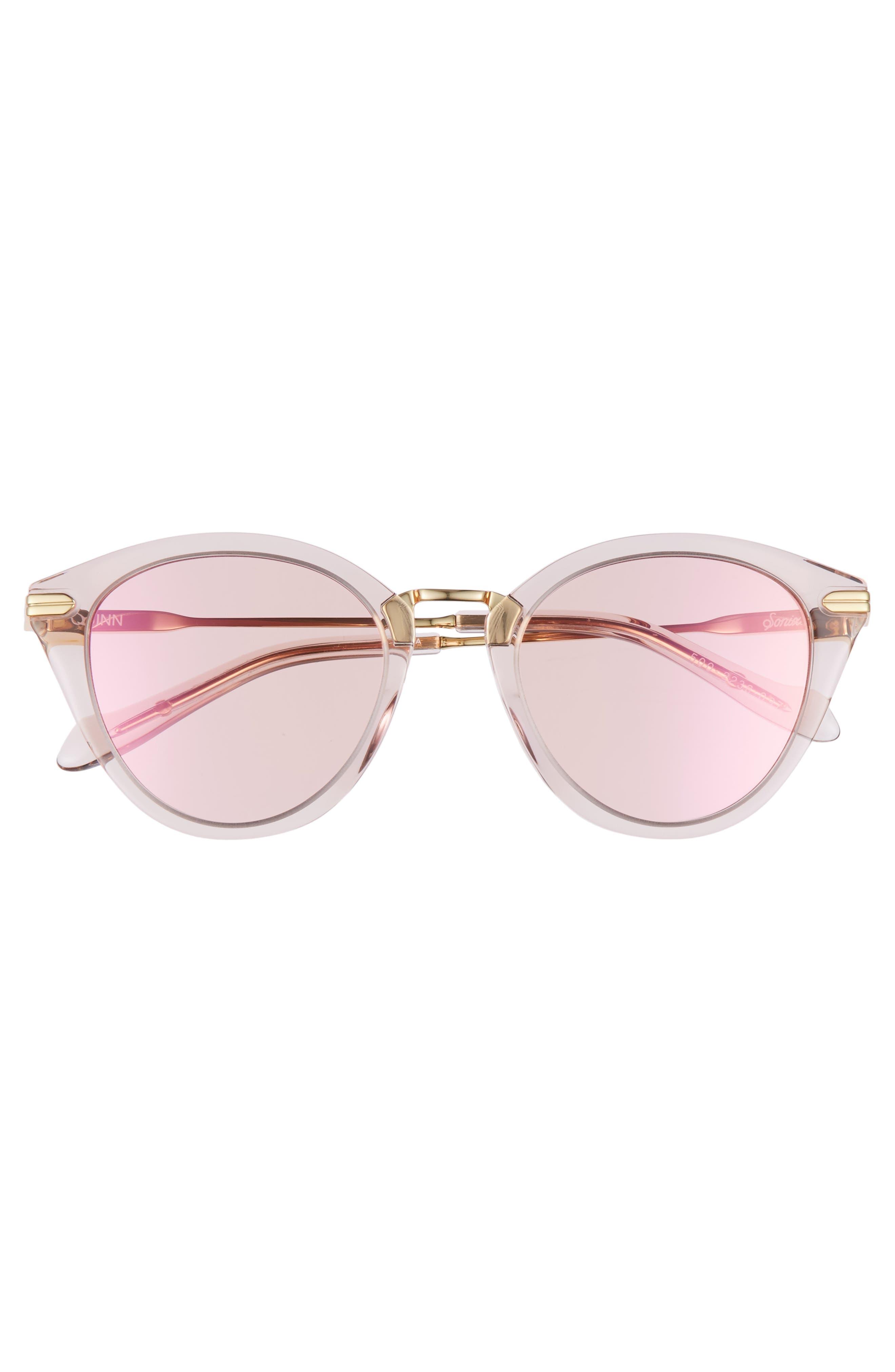 Quinn 48mm Cat Eye Sunglasses,                             Alternate thumbnail 12, color,