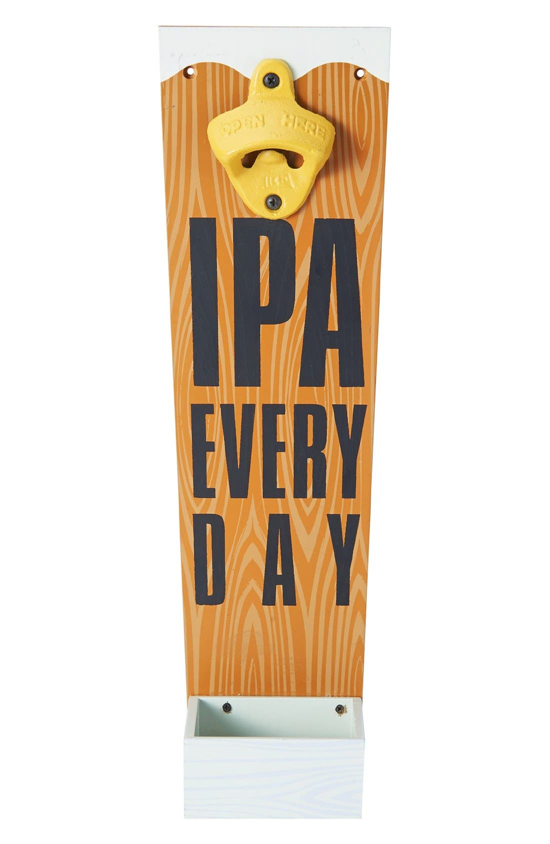 'IPA Every Day' Wall Bottle Opener, Main, color, 250