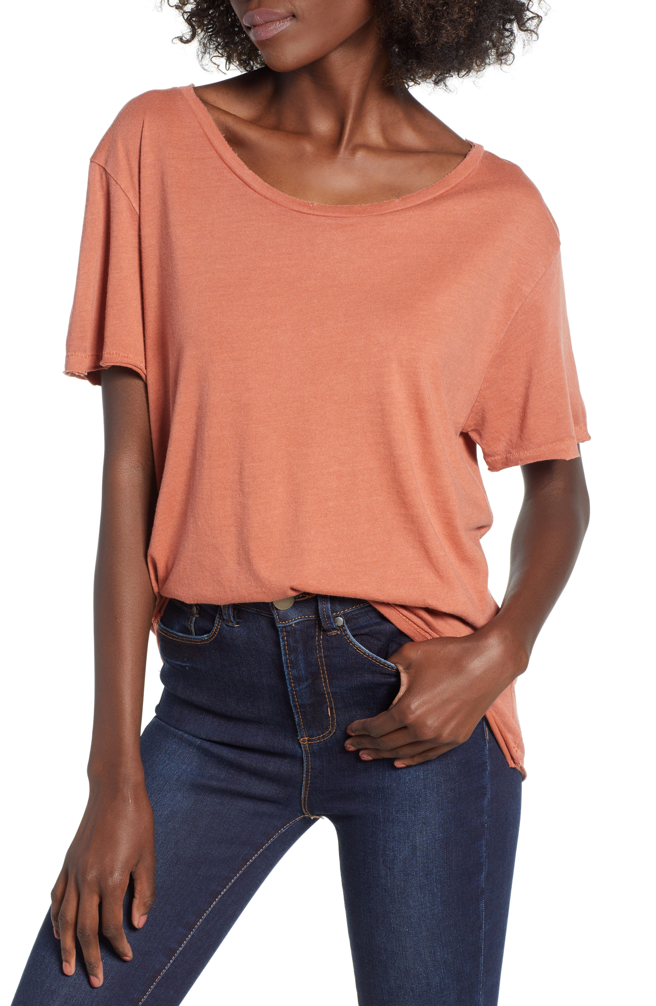 Washed Crew Tee,                         Main,                         color,