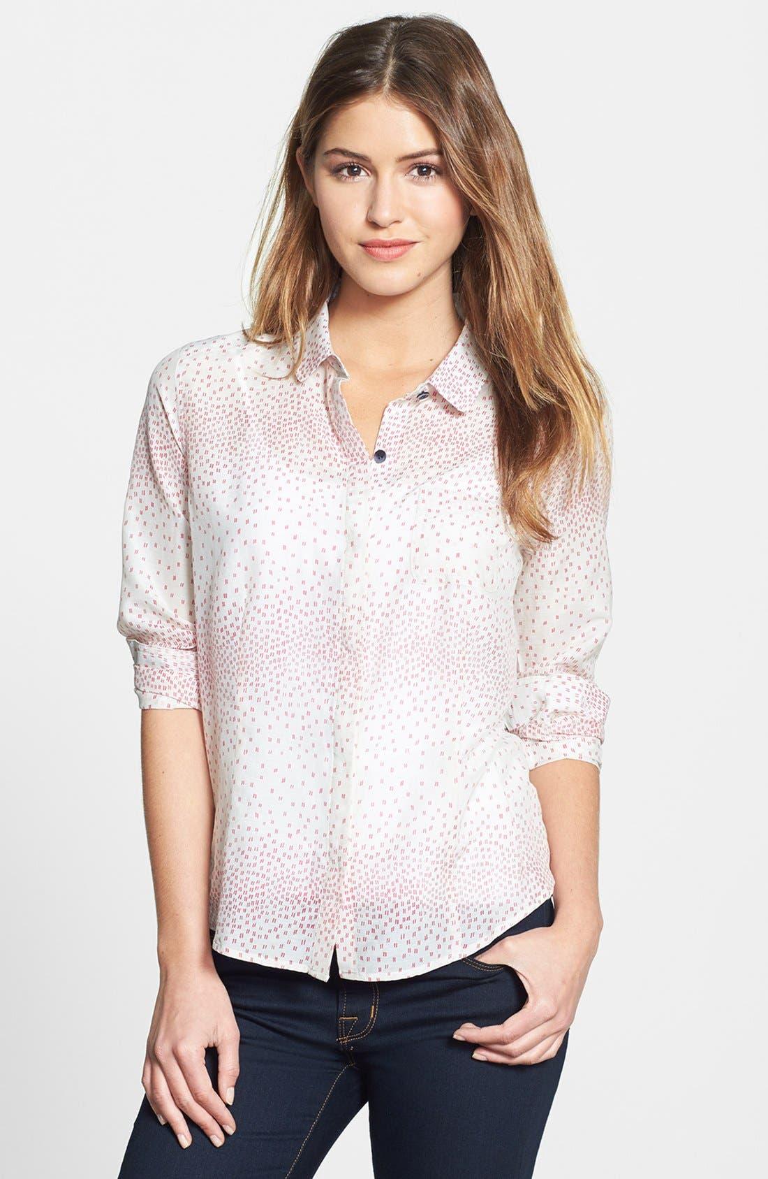 Cotton & Silk Shirt,                             Main thumbnail 3, color,