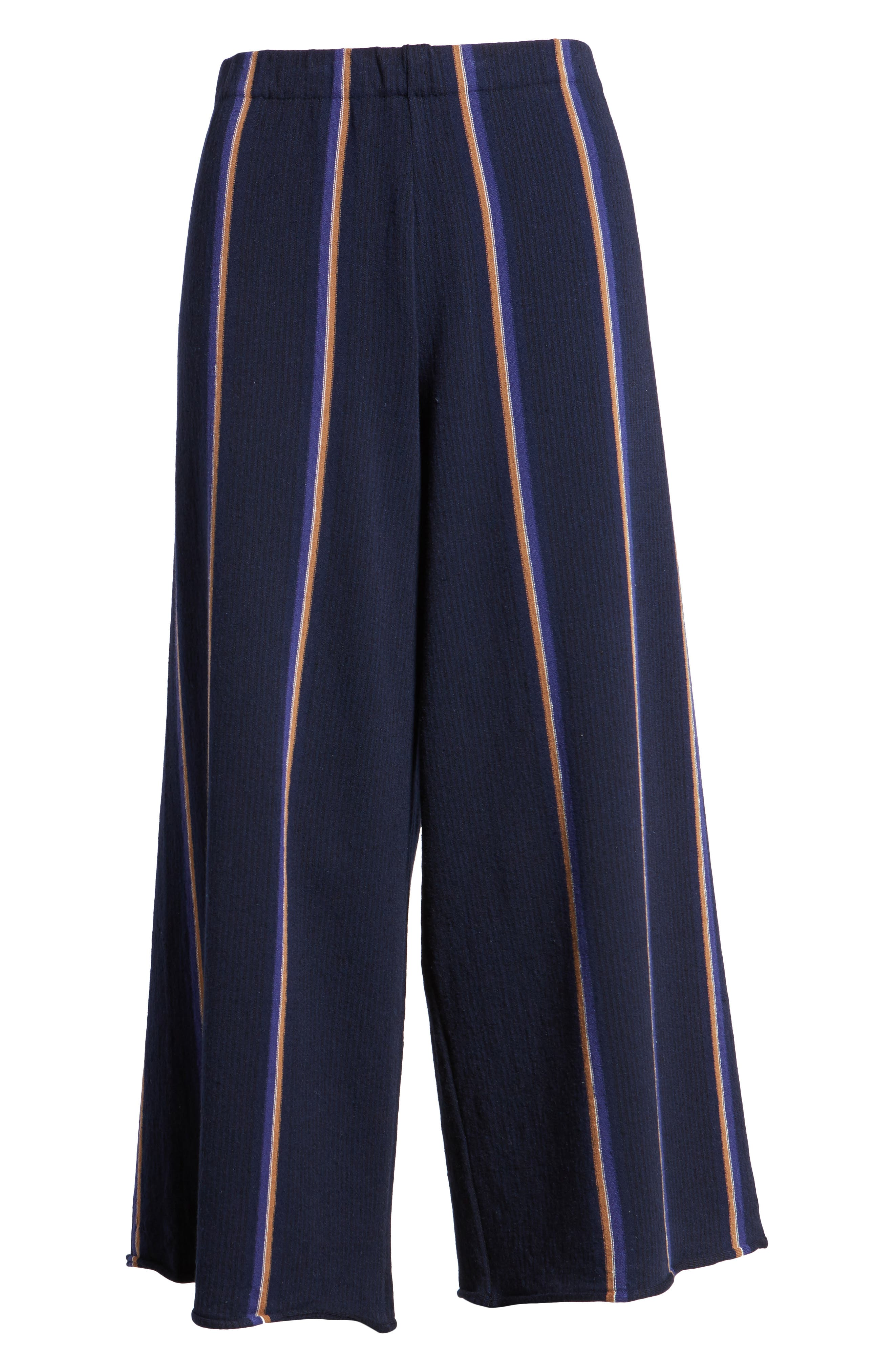 Lined Up Knit Pants,                             Alternate thumbnail 7, color,