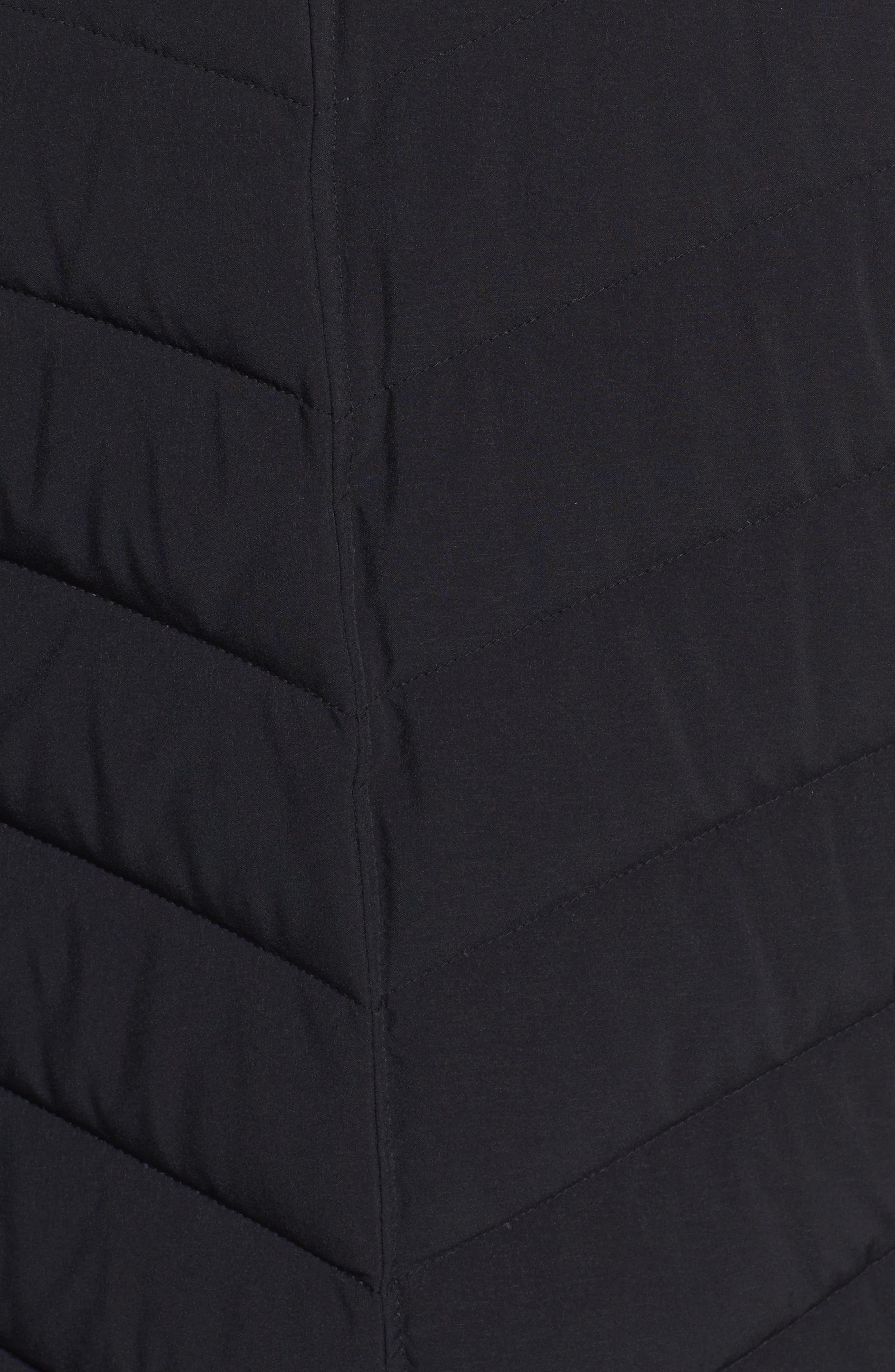 Stretch Packable Down Jacket,                             Alternate thumbnail 6, color,                             001