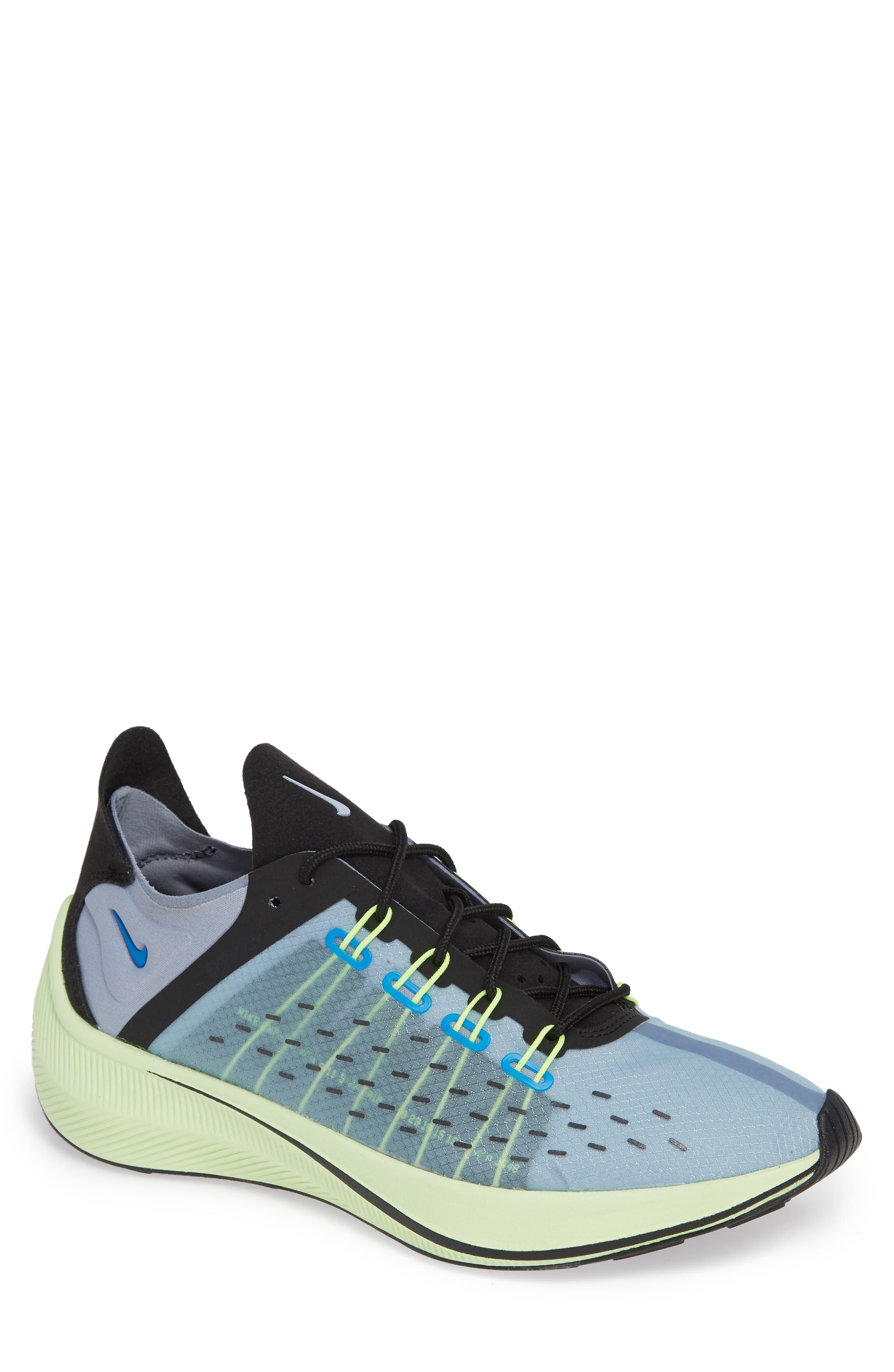 EXP-X14 Running Shoe,                         Main,                         color, PHOTO BLUE/ GLACIER GREY