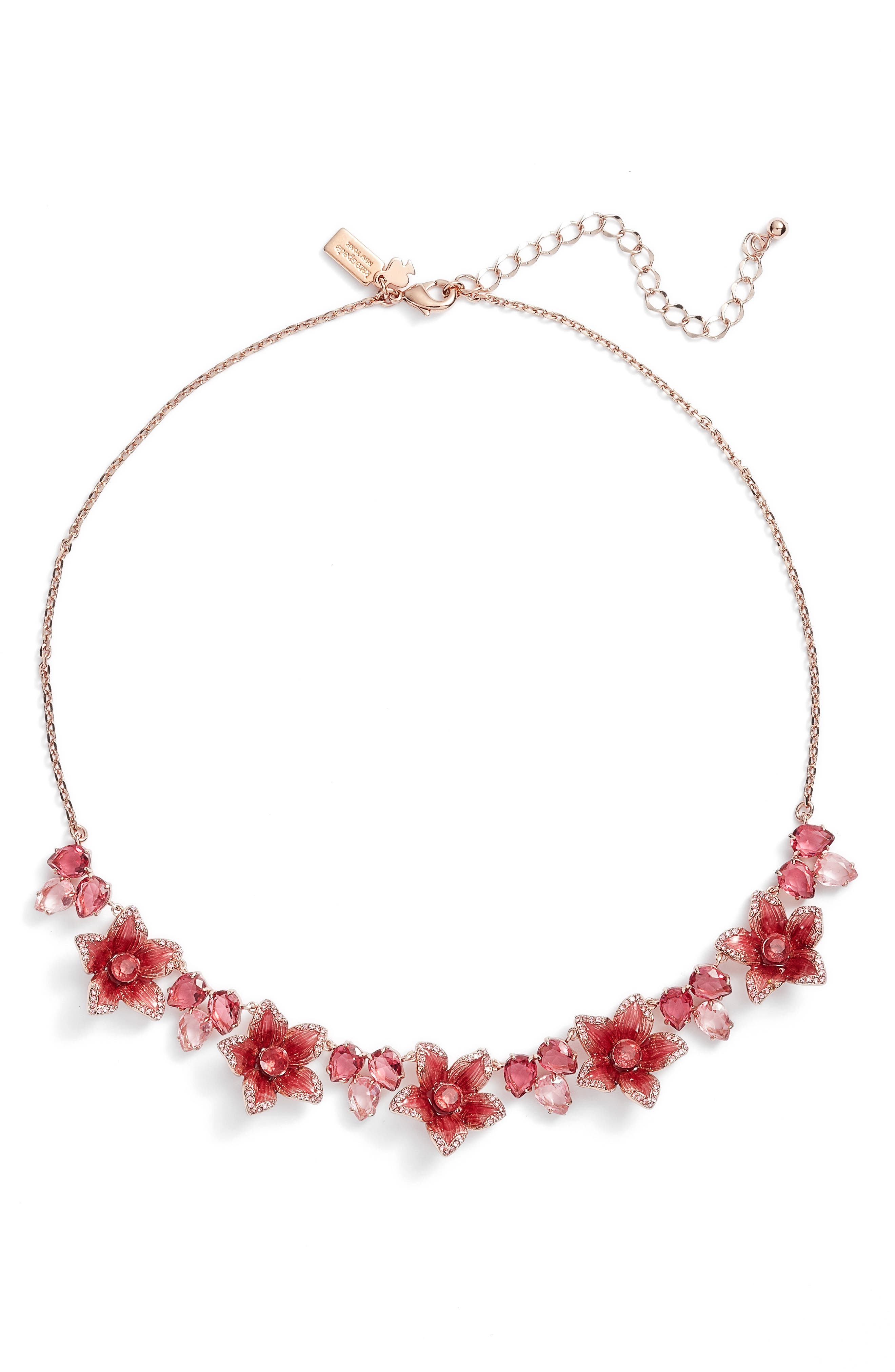 winter garden necklace,                             Main thumbnail 1, color,