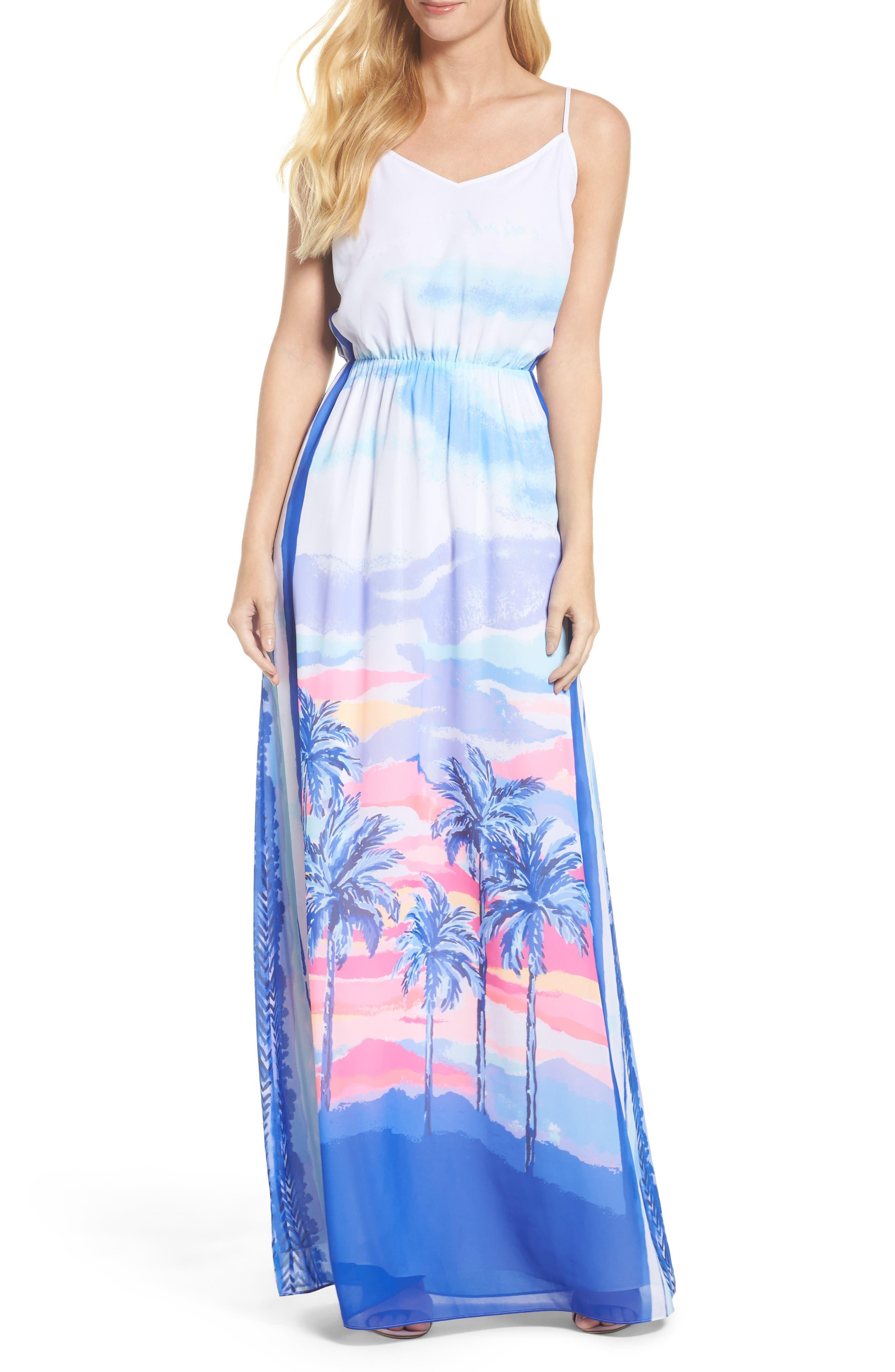 Deanna Maxi Dress,                             Alternate thumbnail 5, color,                             697
