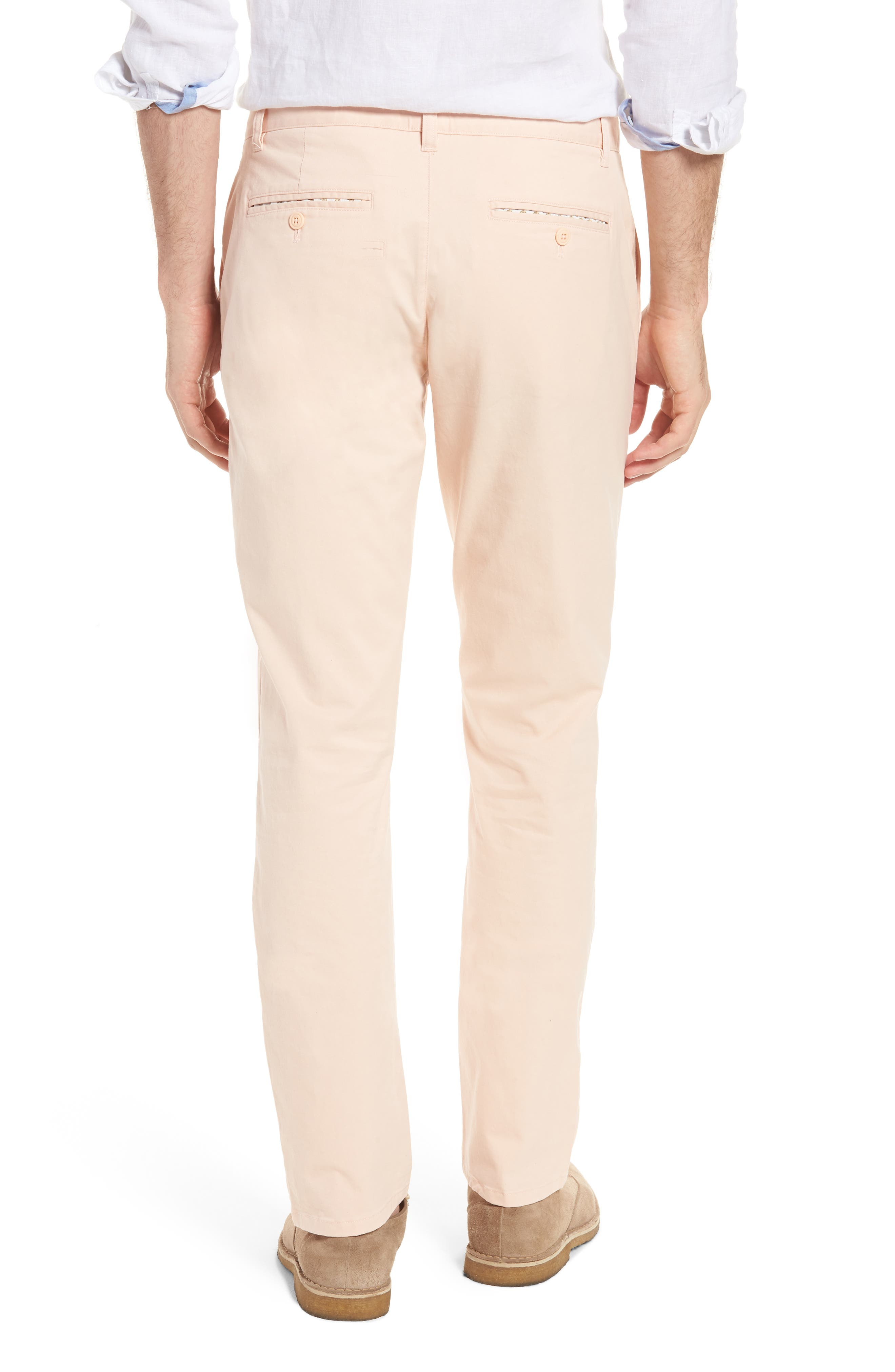 Tailored Fit Washed Stretch Cotton Chinos,                             Alternate thumbnail 57, color,