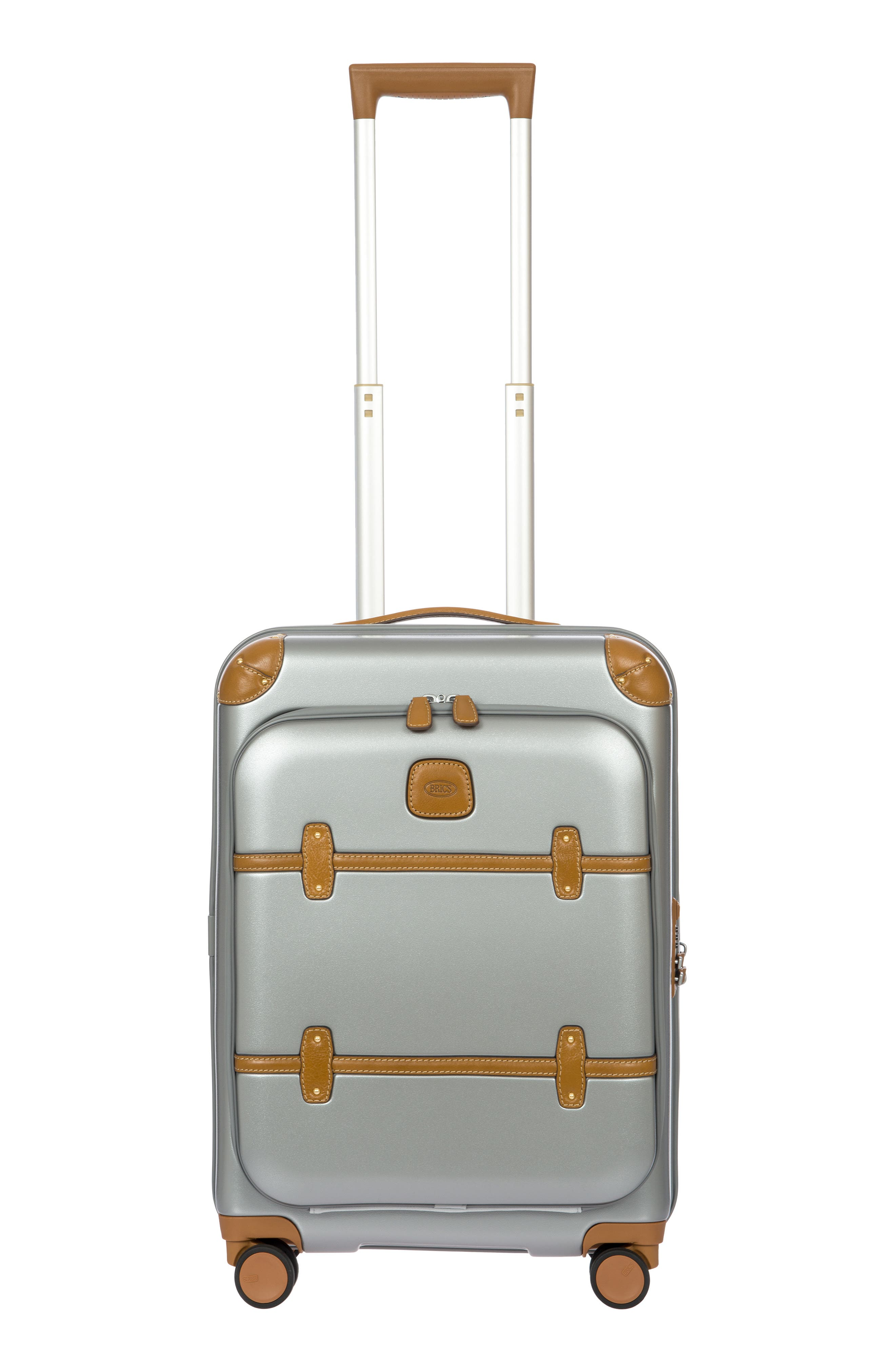 Bellagio 2.0 21-Inch Rolling Carry-On,                         Main,                         color, SILVER