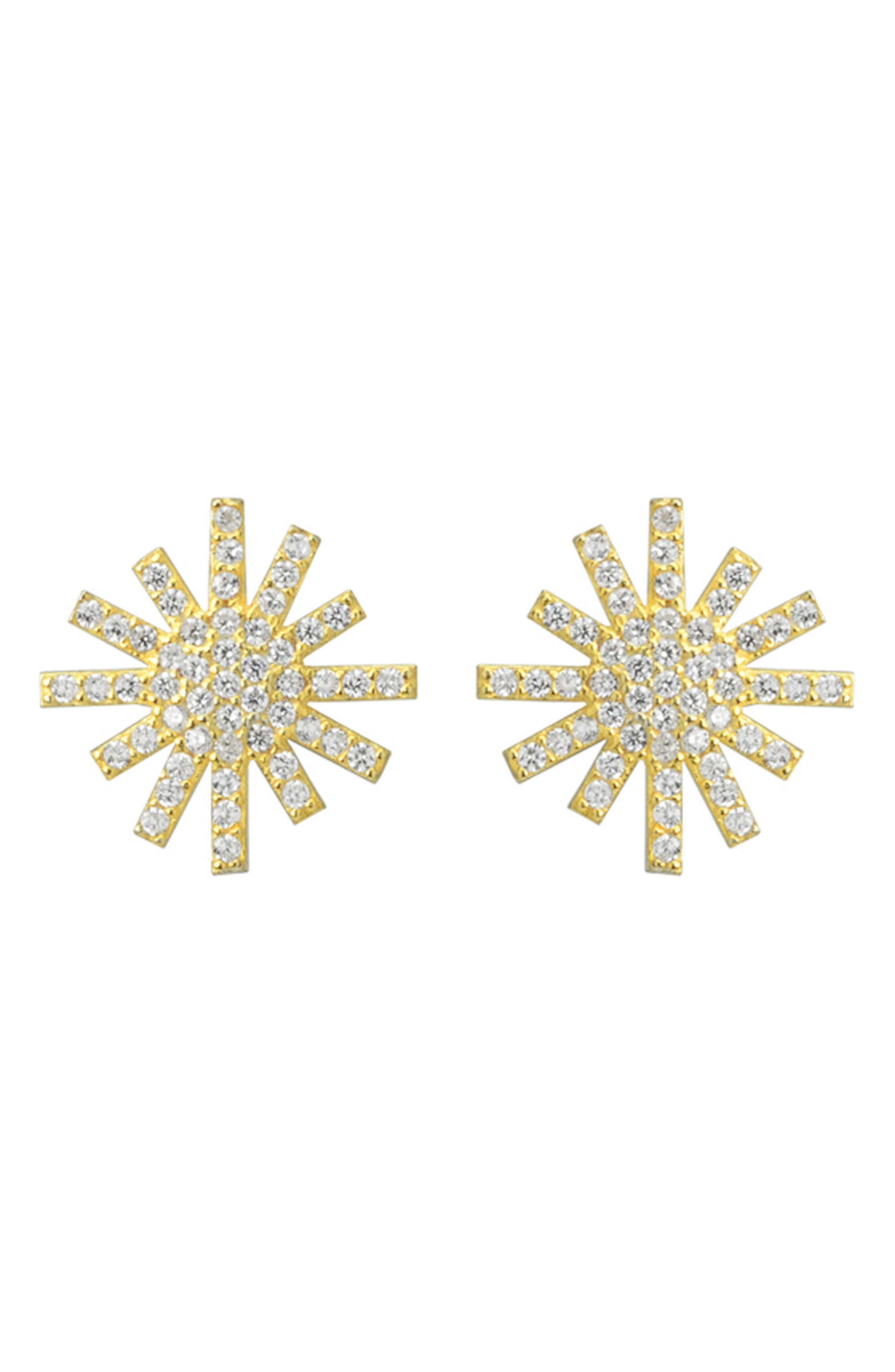 Starburst Stud Earrings,                             Main thumbnail 1, color,                             710